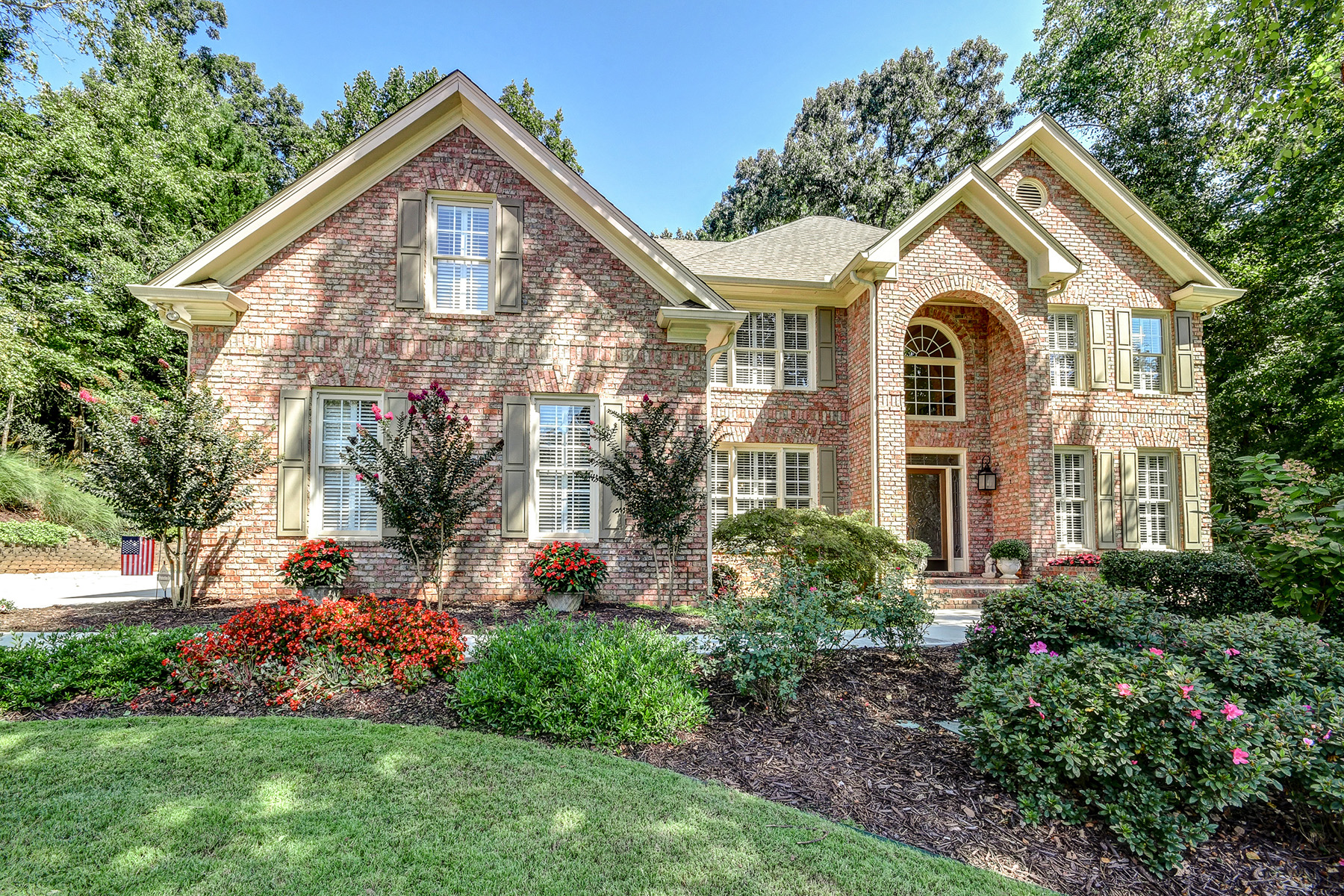 Single Family Homes for Sale at Executive Home In Prime Location Minutes From GA 400 And Lake Lanier 1735 Rising Mist Lane Cumming, Georgia 30041 United States