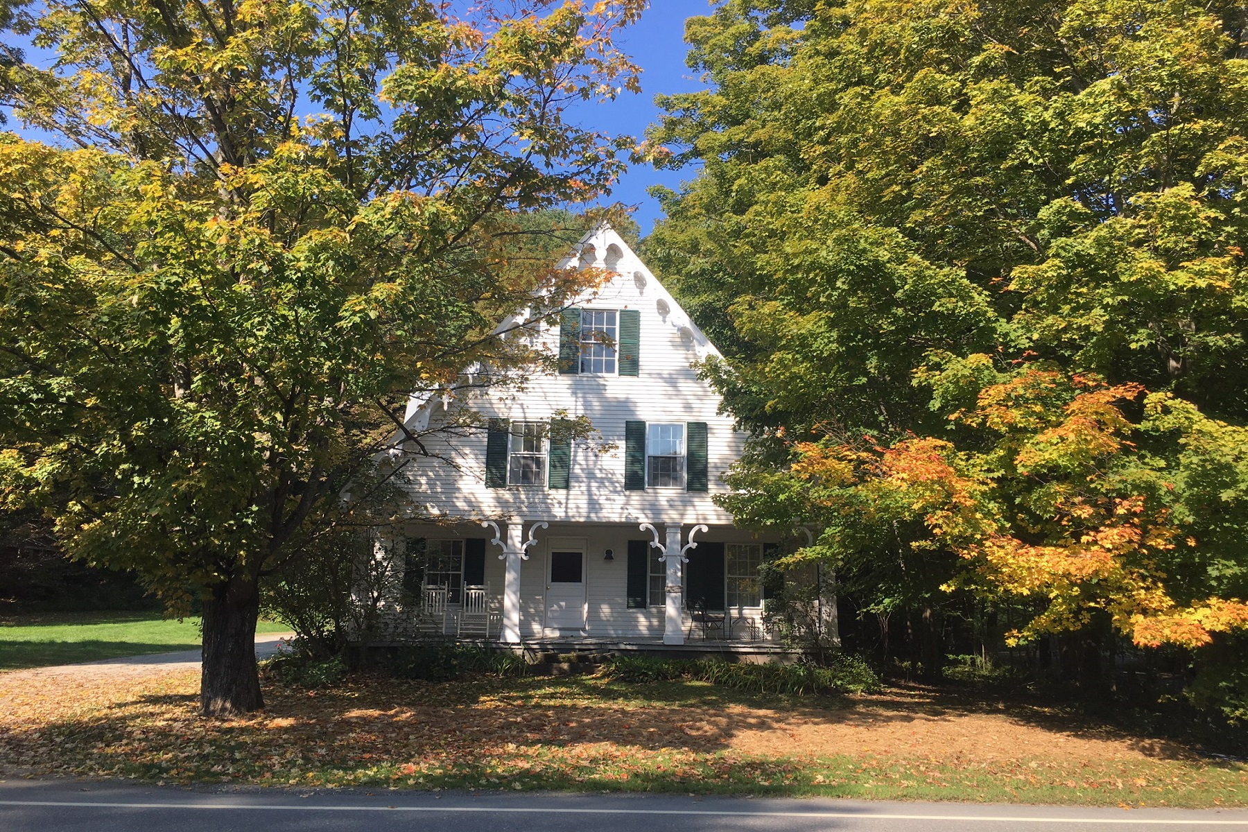 Single Family Home for Sale at Restored 1854 Greek Revival 4946 South Road South Woodstock, Vermont 05071 United States