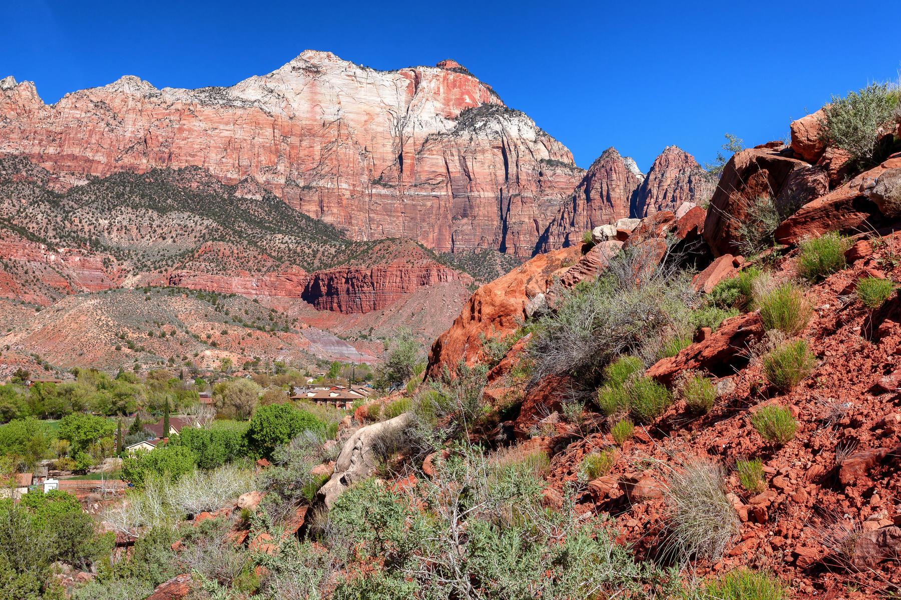 Terreno por un Venta en Gorgeous Lot Surrounded by Zion Canyon Springs Dr. Lot 37 Springdale, Utah, 84767 Estados Unidos