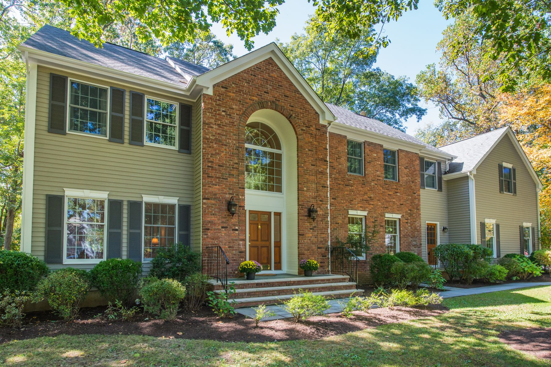 Single Family Homes for Active at Custom Caplan Colonial 3 Croydon Road Morris Township, New Jersey 07960 United States