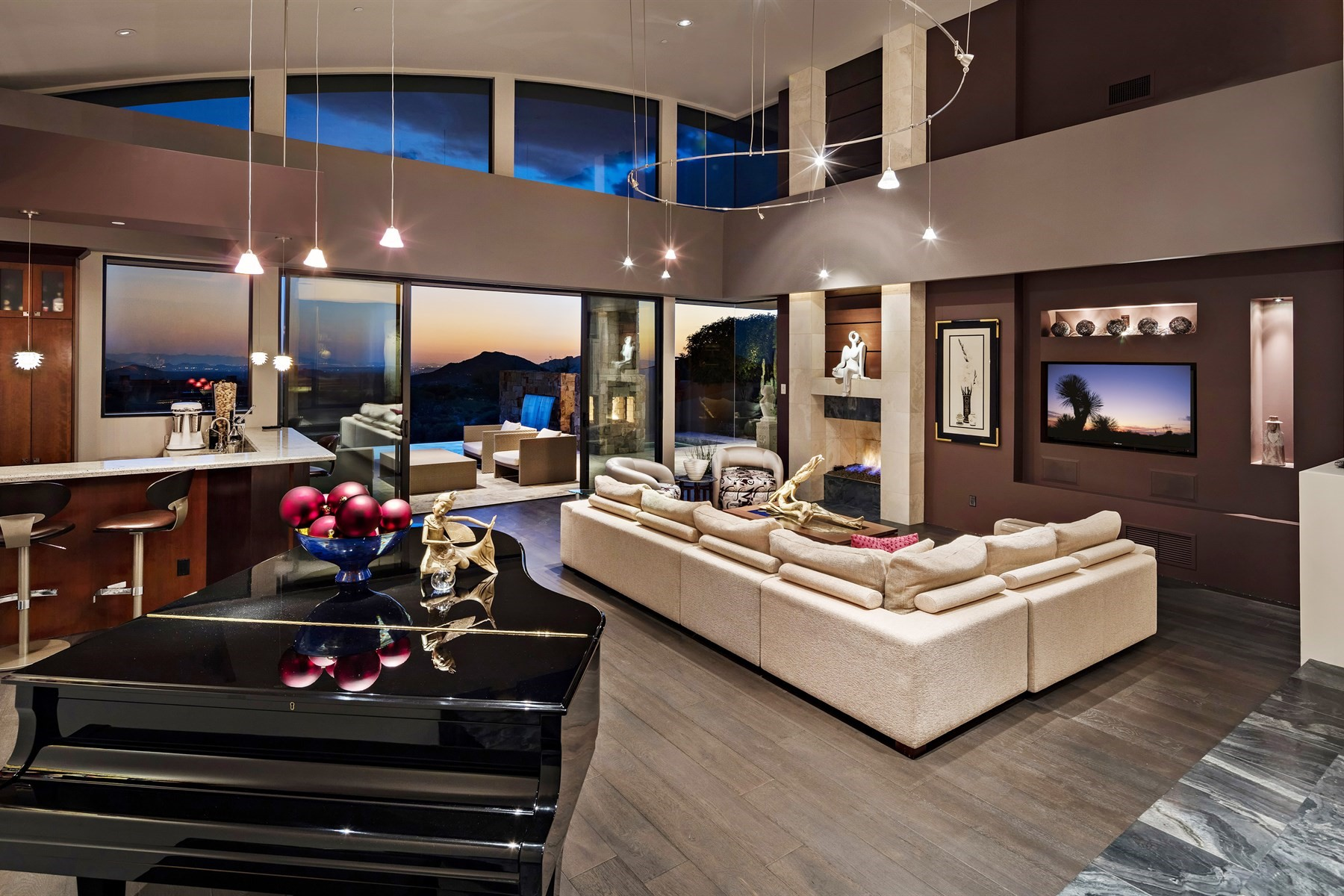 Single Family Home for Sale at Stunning contemporary home in Desert Mountain's Village of Lost Star 10806 E Falling Star Dr, Scottsdale, Arizona, 85262 United States
