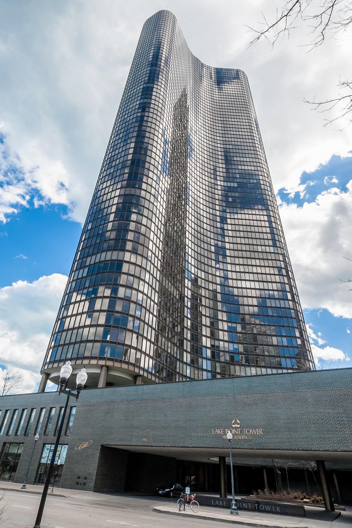 Kat Mülkiyeti için Satış at Expansive Condo in Highly Sought-After Lake Point Tower! 505 N Lake Shore Drive Unit 1306 Near North Side, Chicago, Illinois, 60611 Amerika Birleşik Devletleri