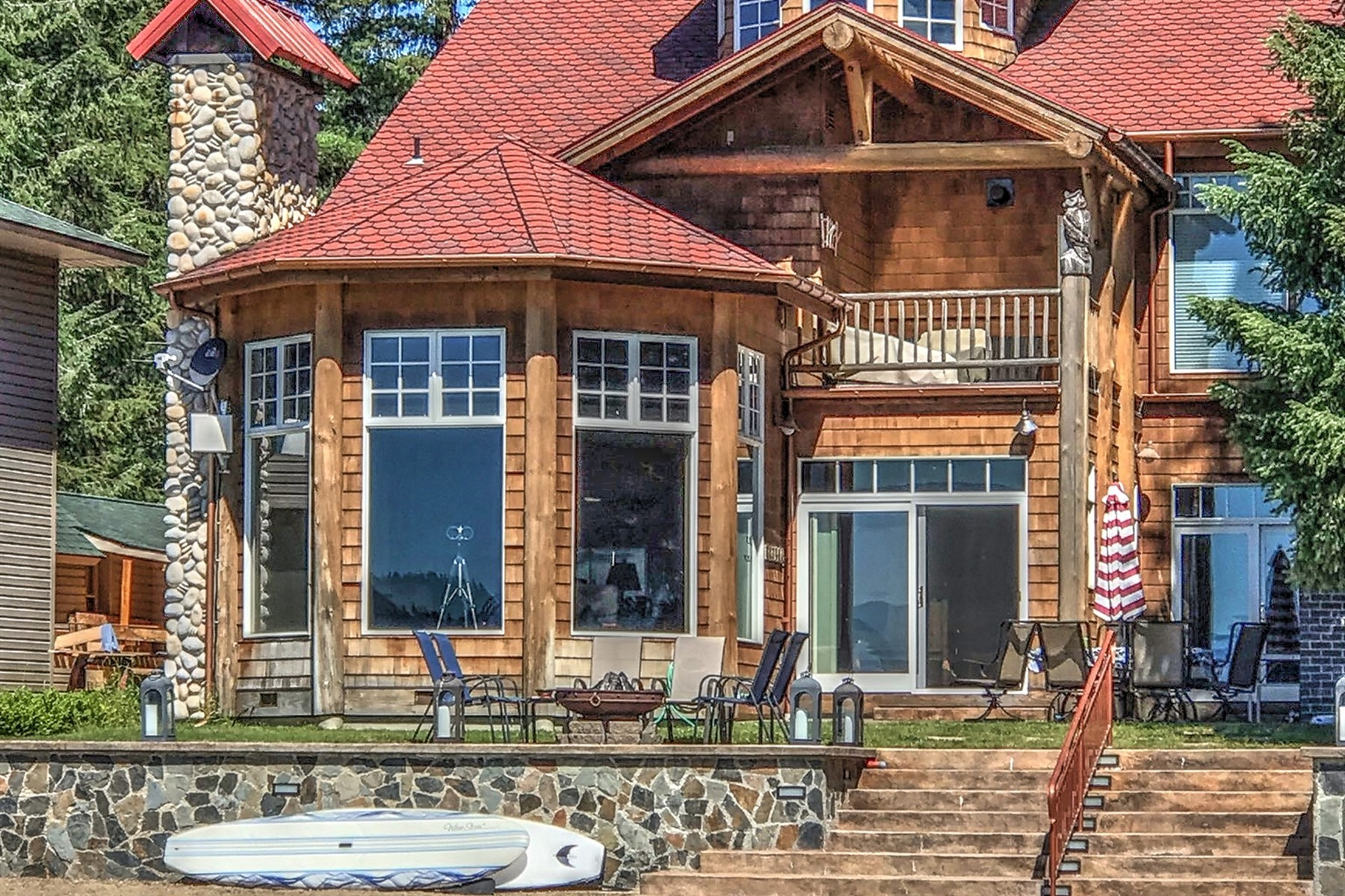 Single Family Home for Active at Prime Location 38 Easy Street Priest Lake, Idaho 83856 United States
