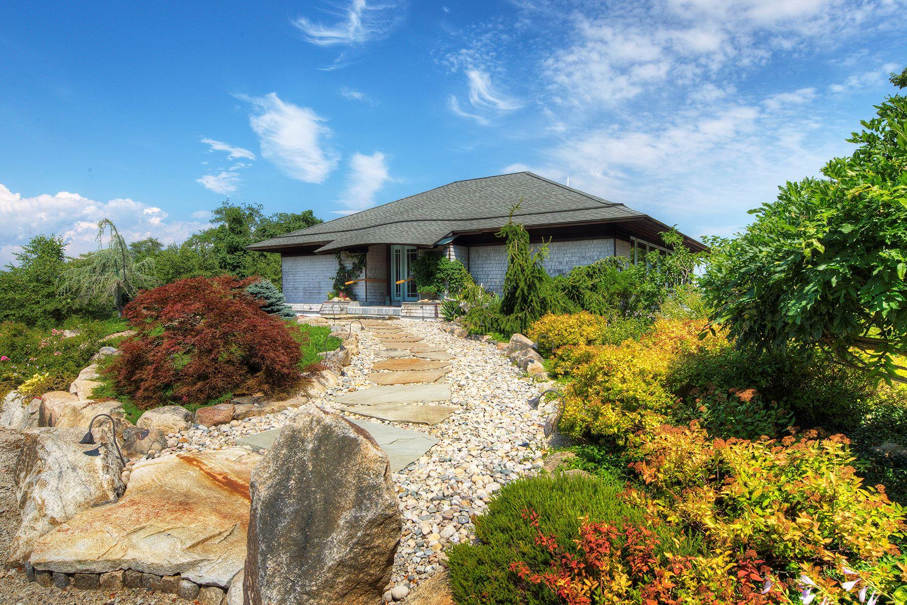 "Single Family Home for Sale at ""Joie de Vivre"" 410 Puncateest Neck Road Tiverton, Rhode Island 02878 United States"