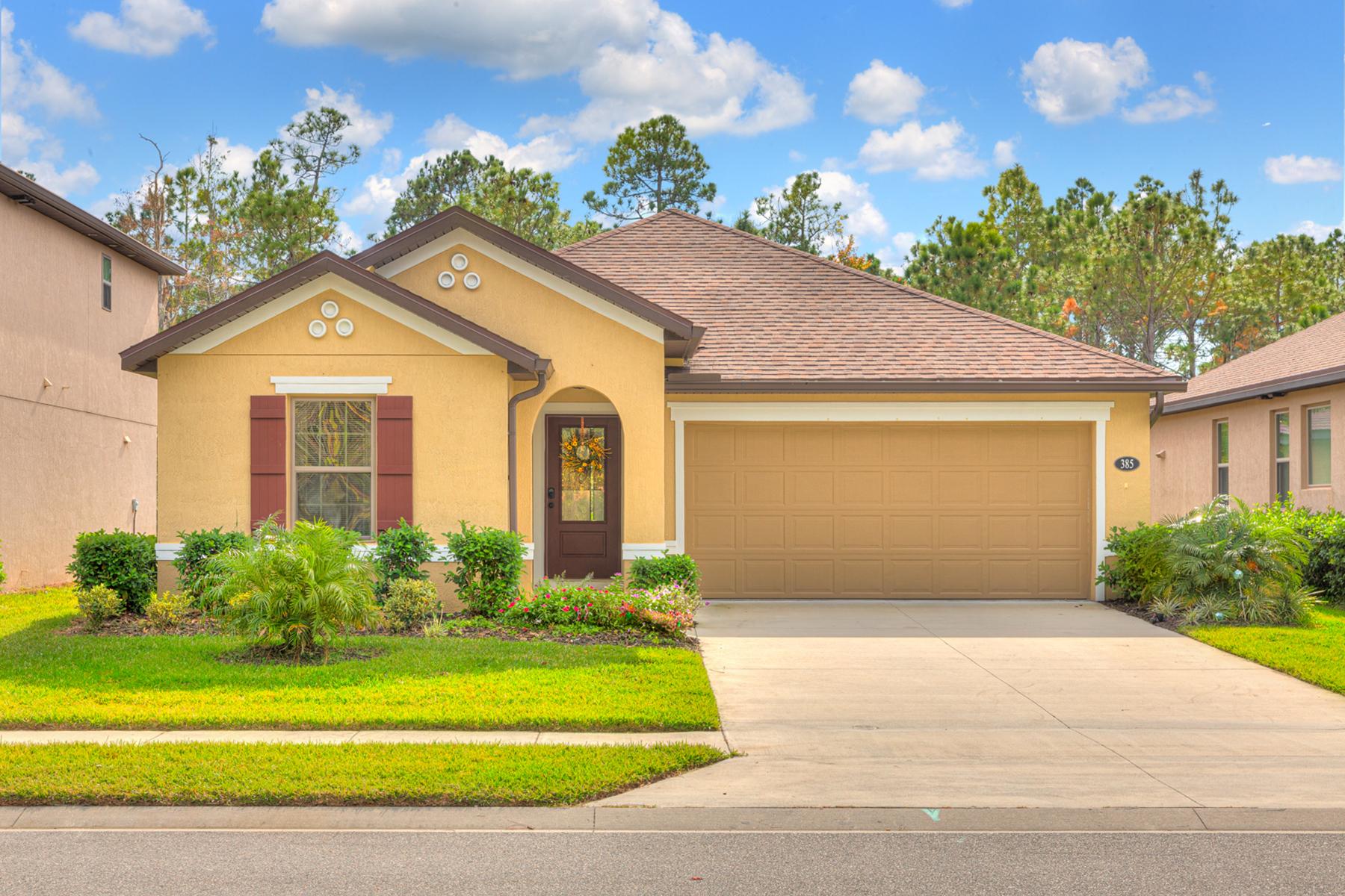 Single Family Homes por un Venta en Daytona Beach 385 Tuscany Chase Dr Daytona Beach, Florida 32117 Estados Unidos