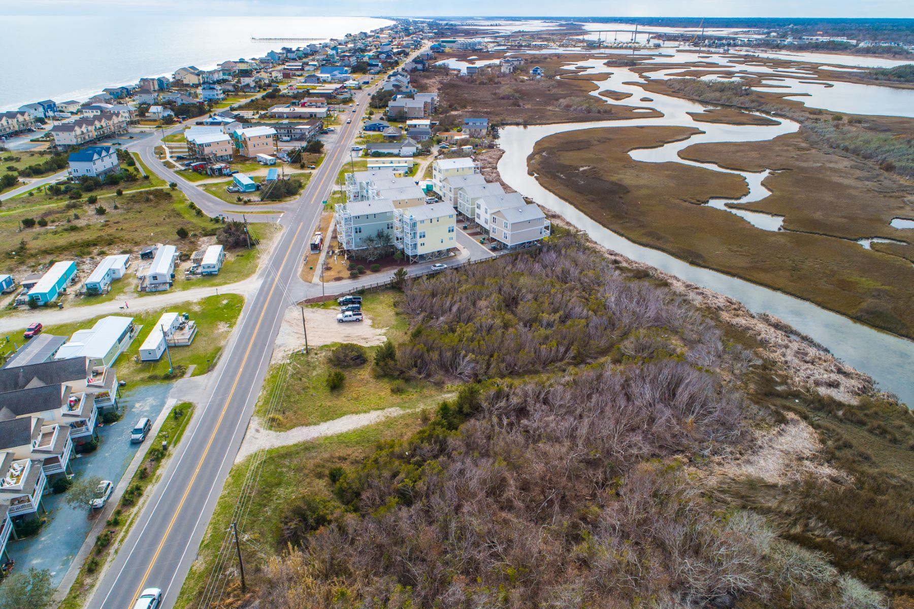 Land for Active at Waterfront Shoreline Property 11 North New River Drive Surf City, North Carolina 28445 United States