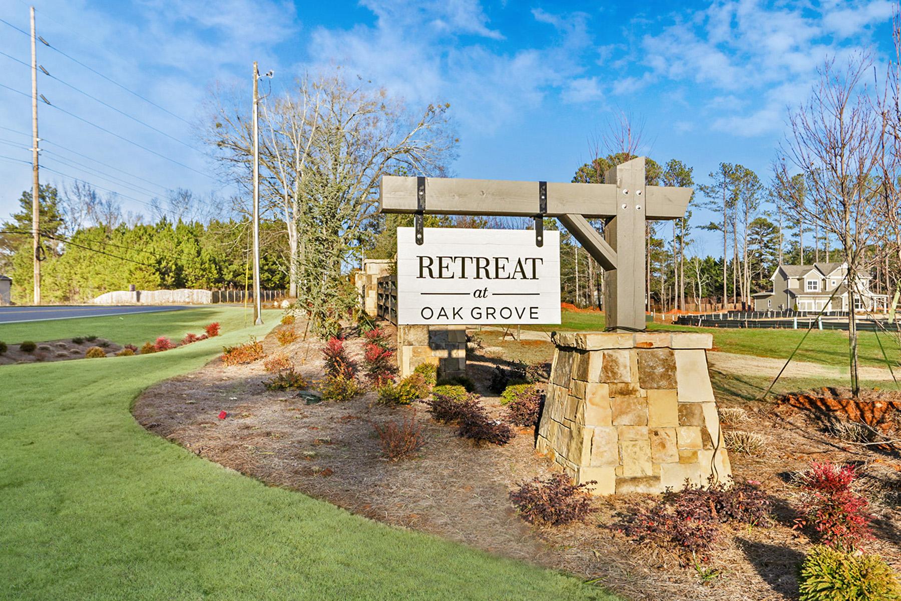 Single Family Homes per Vendita alle ore Retreat At Oak Grove - New Community In Cherokee County 124 Oakdale Woods Lane Acworth, Georgia 30102 Stati Uniti