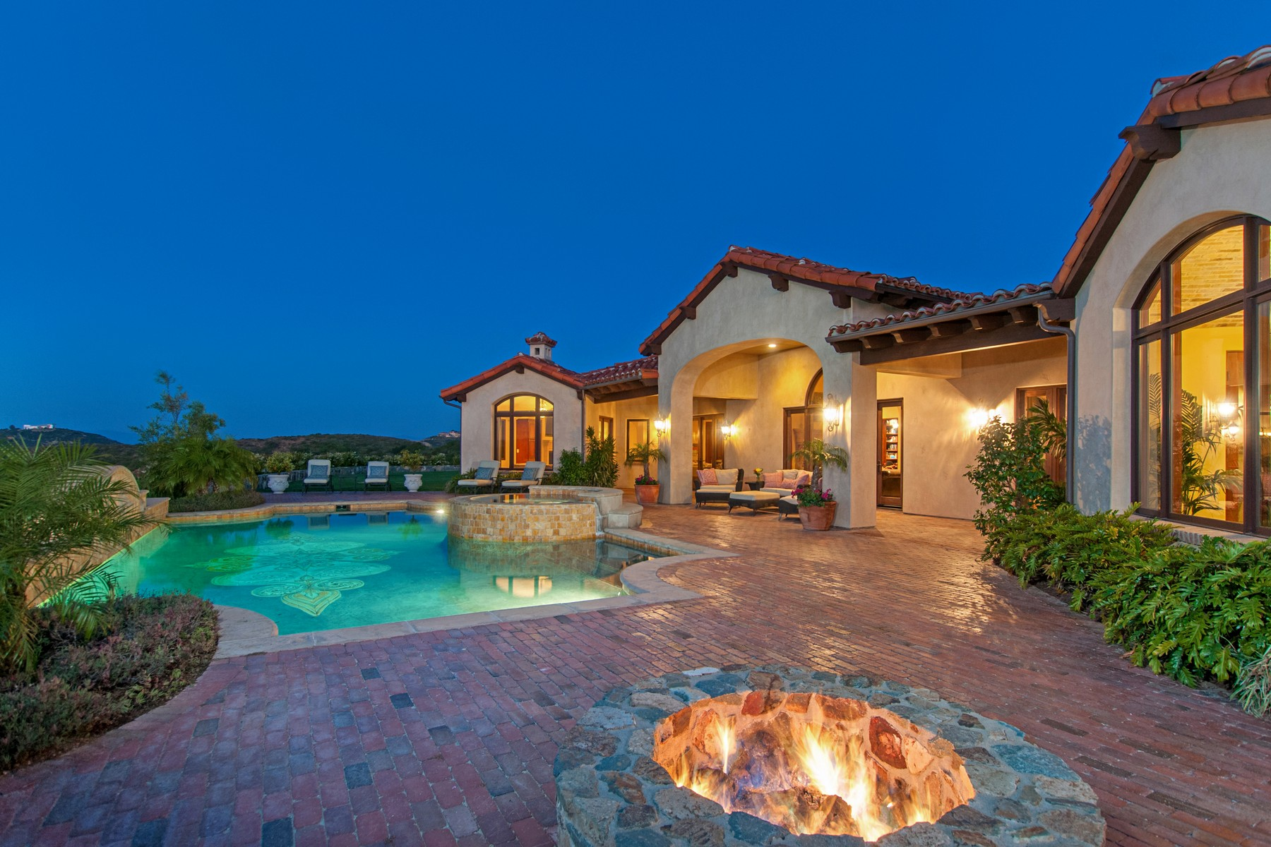 Single Family Home for Sale at 18382 Via Ambiente Rancho Santa Fe, California, 92067 United States