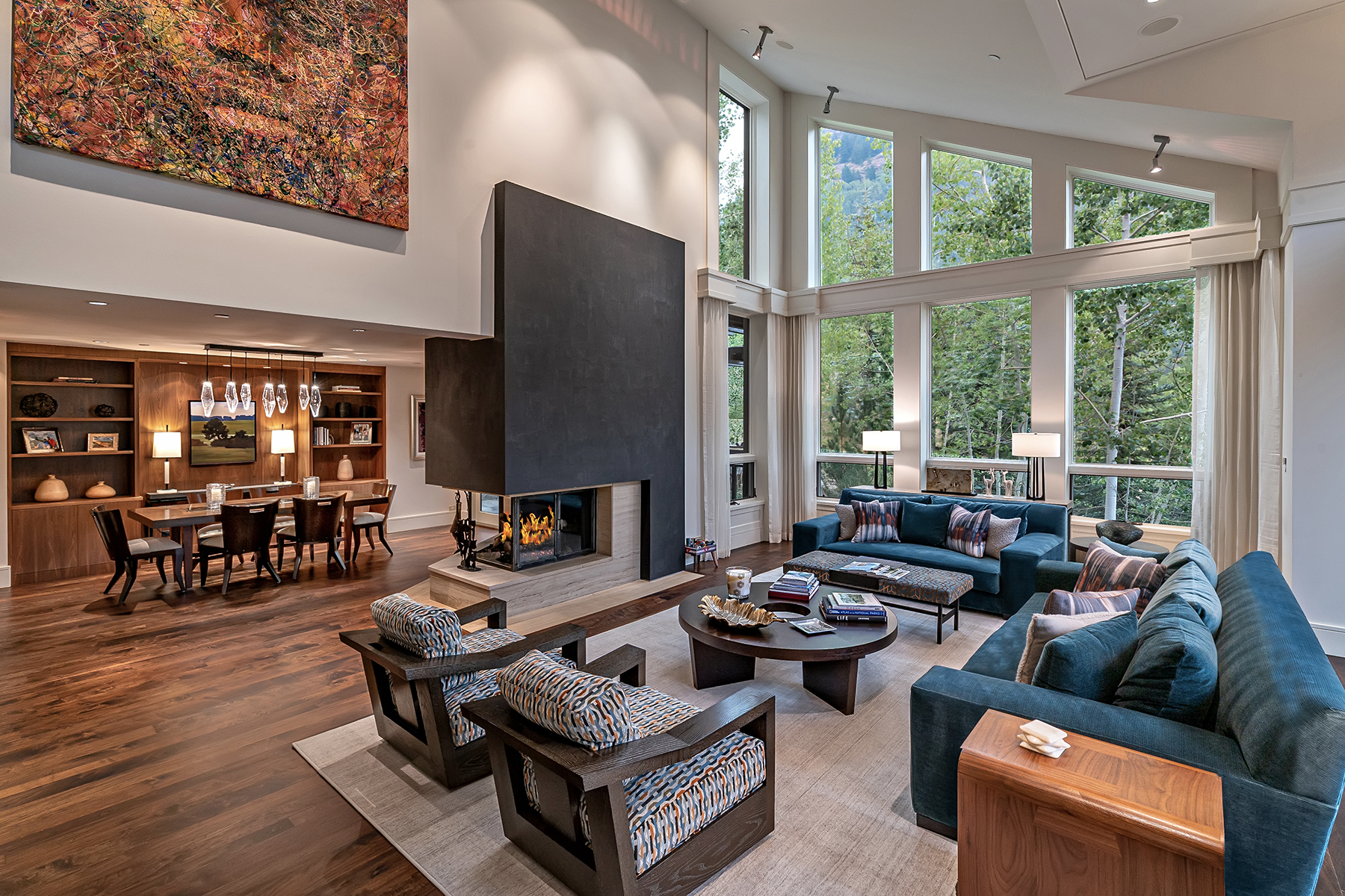 Single Family Homes のために 売買 アット Dramatic Alpine Luxury Home and Entertainers Dream 2975 Manns Ranch Road, Vail, コロラド 81657 アメリカ