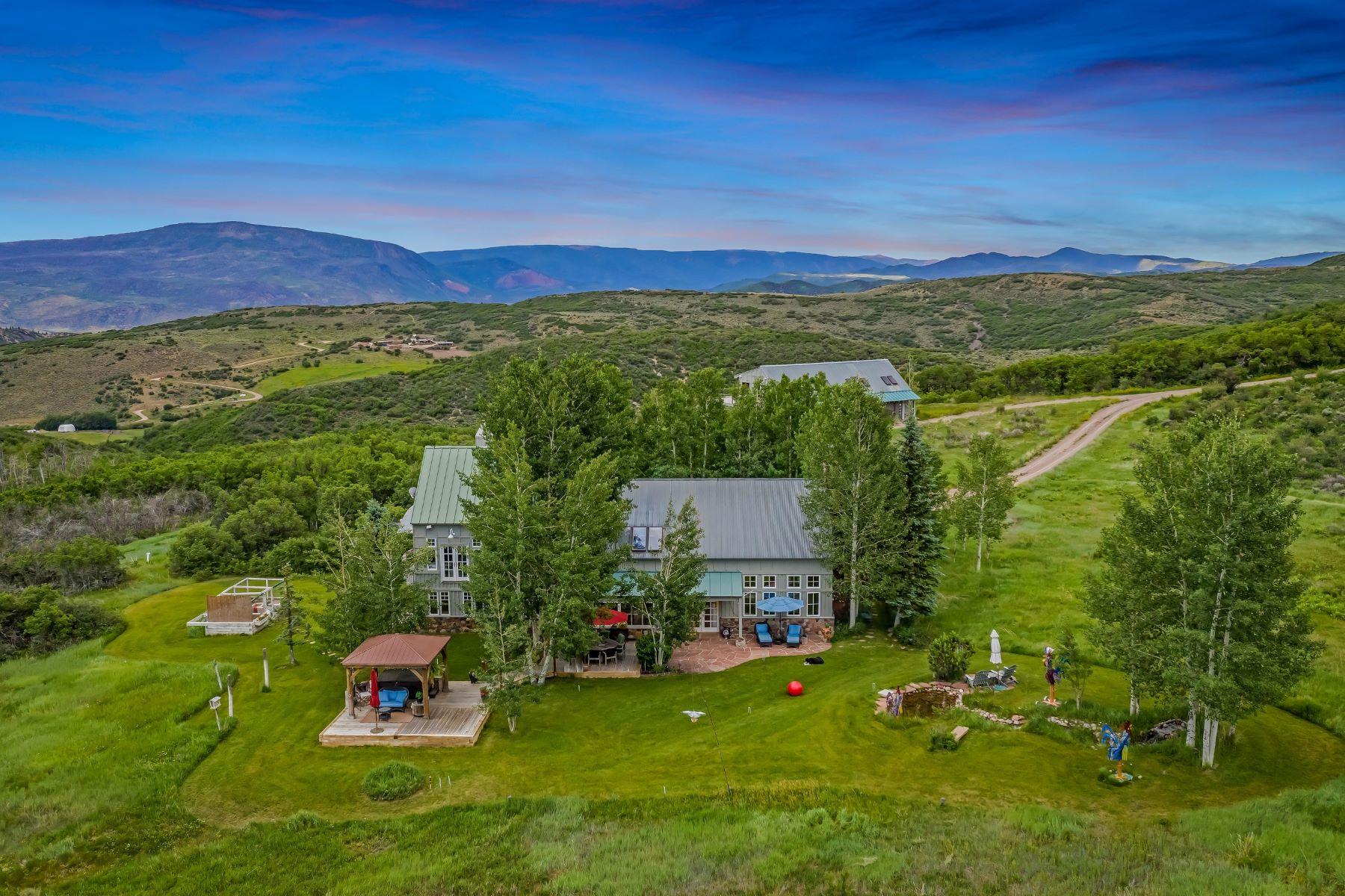 Other Residential Homes для того Продажа на 35 Acre Compound 2240 Old Herron Road, Basalt, Колорадо 81621 Соединенные Штаты