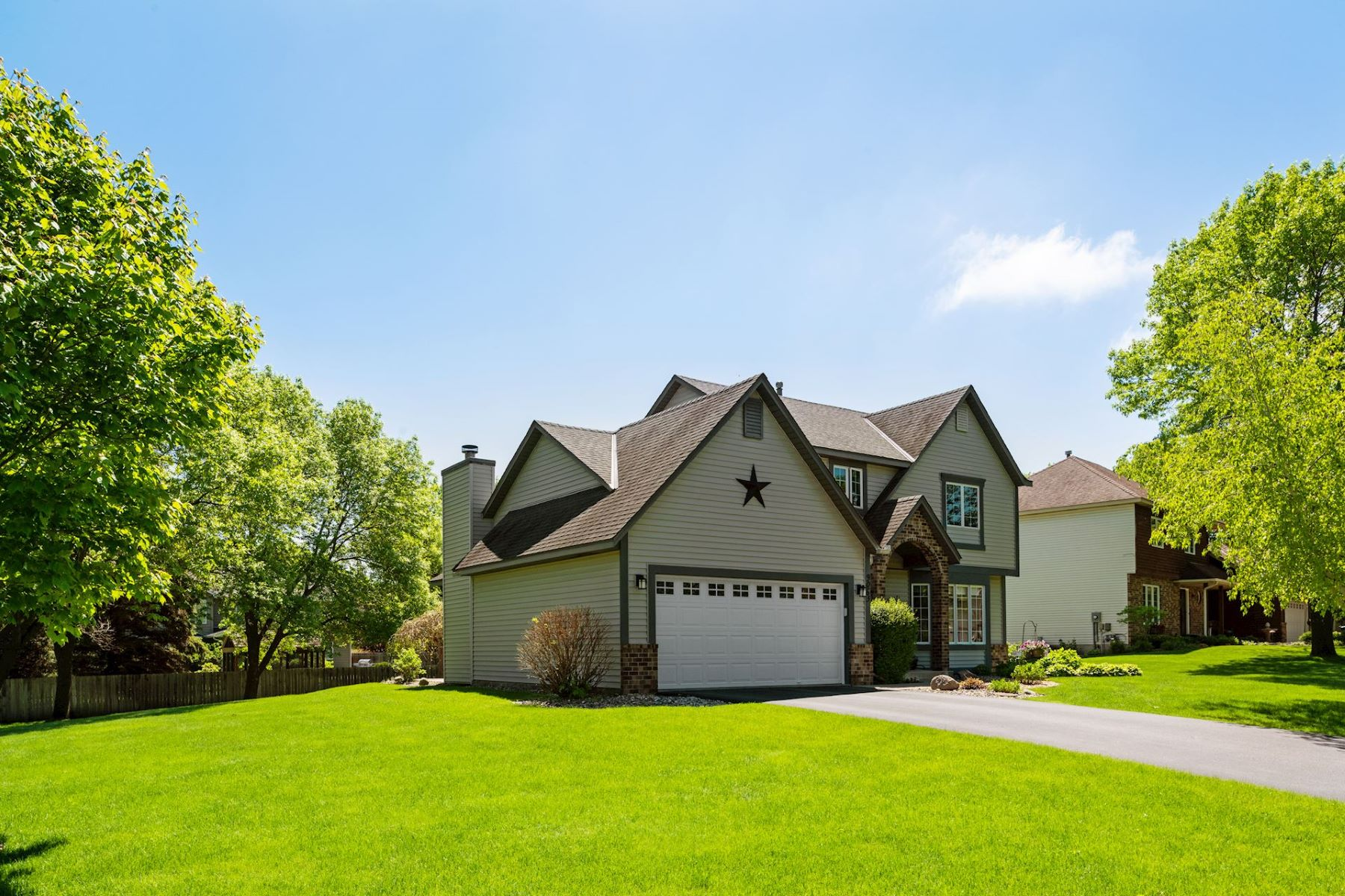 Single Family Homes for Sale at Pride of ownership! Beautifully maintained home in Cedar Ridge Elementary 9063 Dressen Circle Eden Prairie, Minnesota 55347 United States