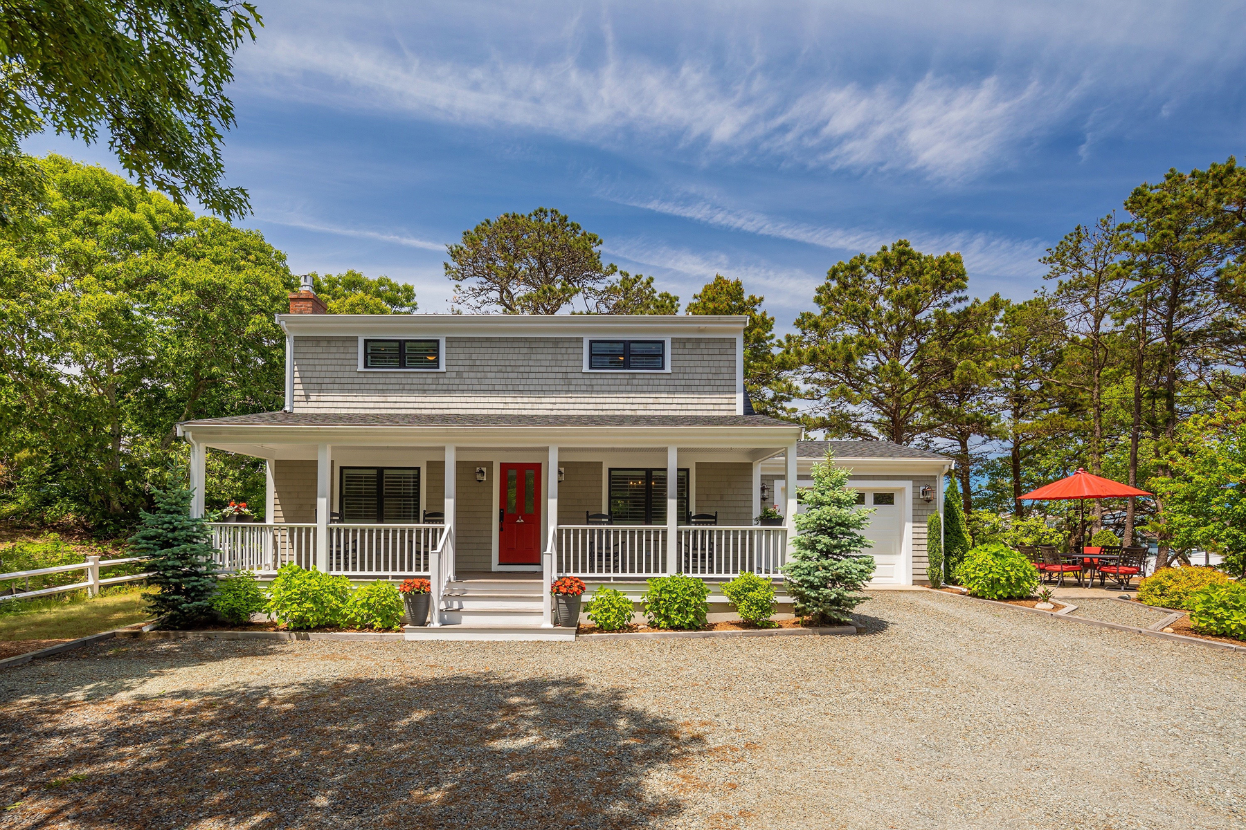 Single Family Homes for Sale at Feel the breeze on the covered front porch 32 Ship's Way Provincetown, Massachusetts 02657 United States
