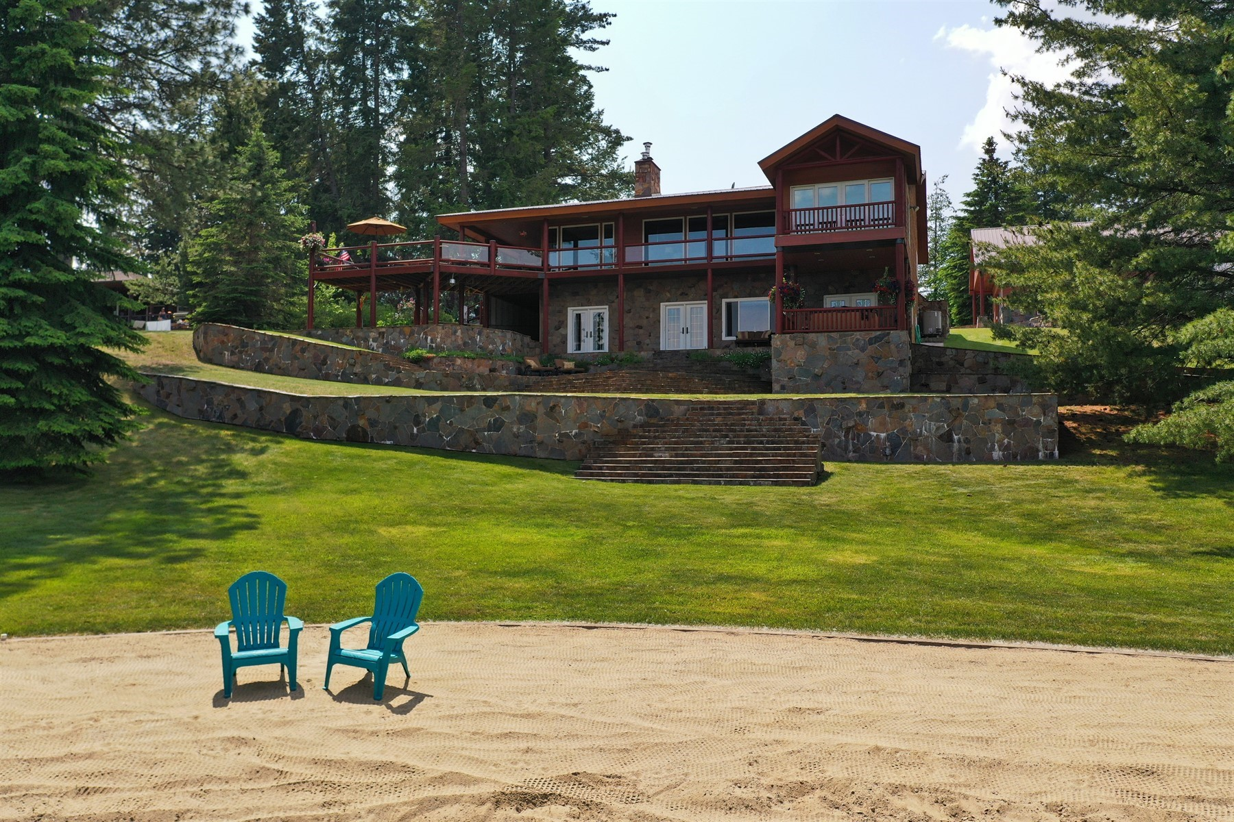 Single Family Homes للـ Sale في Pend Oreille Waterfront 36 Laclede Shores Drive, Laclede, Idaho 83841 United States