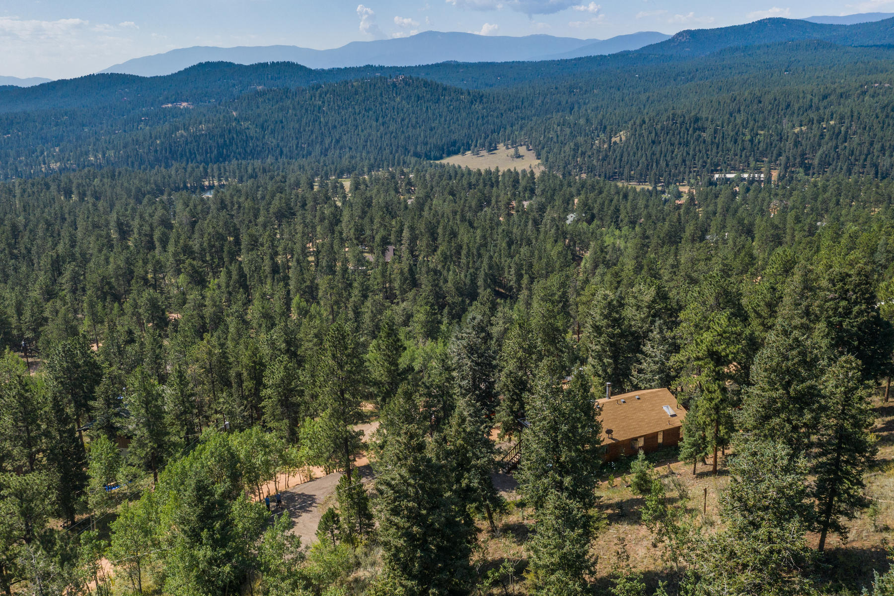 Single Family Homes for Active at Nestled in the pines your mountain home retreat! 34139 Berg Lane Pine, Colorado 80470 United States