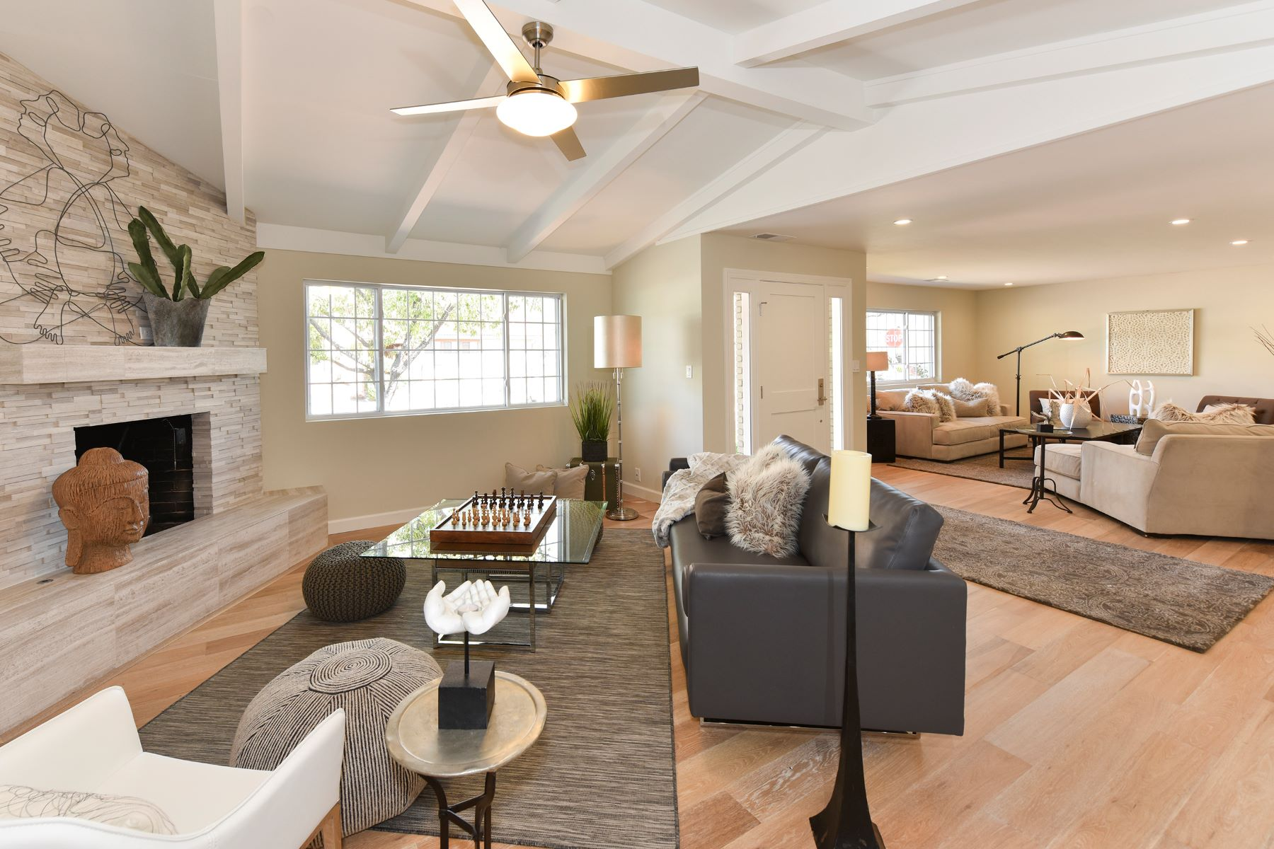 sales property at Elegance Under High Ceilings and Exposed Beams