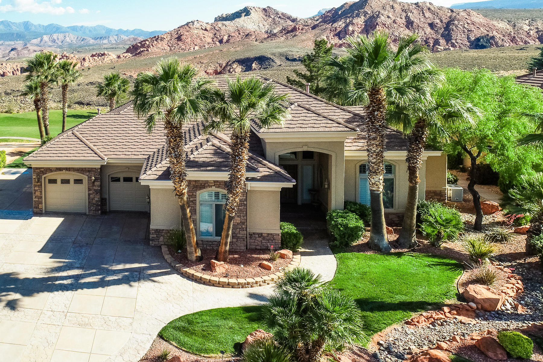 Single Family Homes için Satış at Gorgeous Red Rock Views on Sky Mountain Golf Course 2348 West 1050 North, Hurricane, Utah 84737 Amerika Birleşik Devletleri