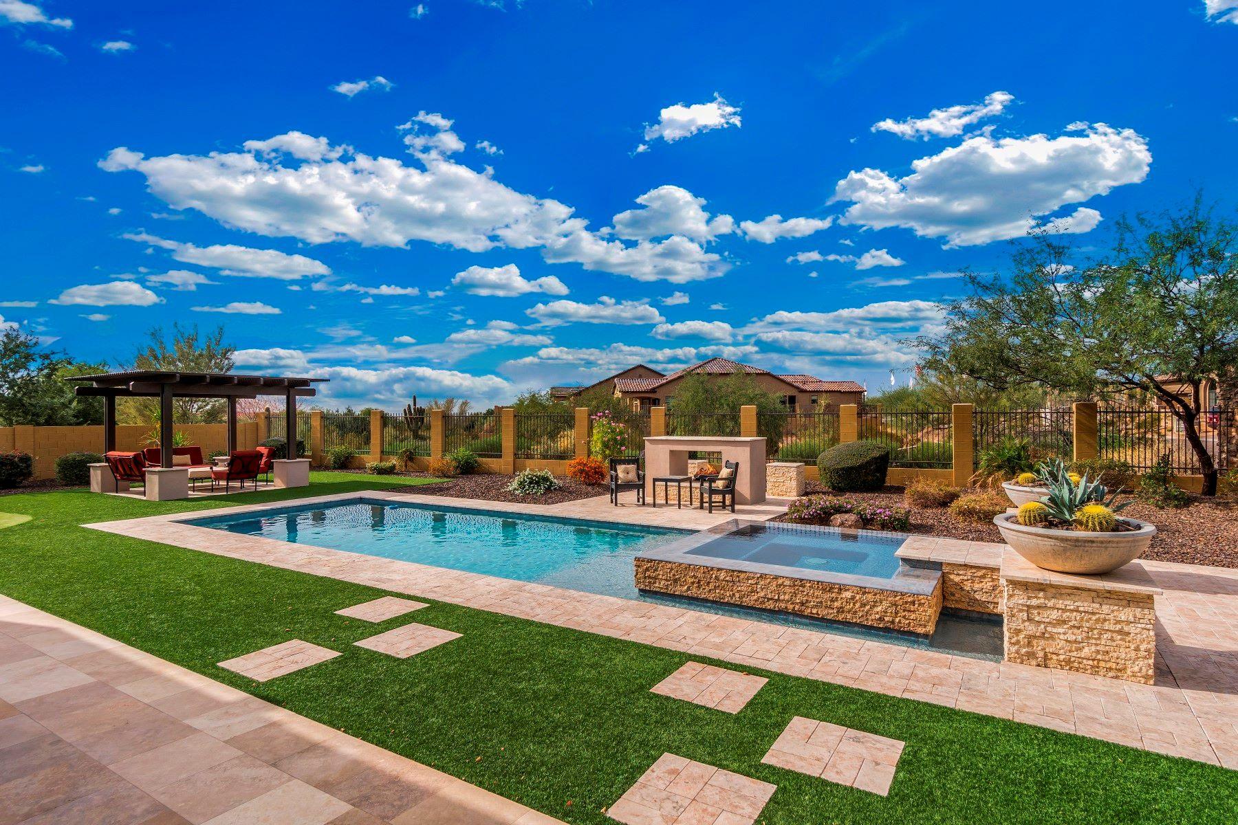 Частный односемейный дом для того Продажа на Stunning home in Canyon Gate at Mountain Bridge 1856 N ATWOOD, Mesa, Аризона, 85207 Соединенные Штаты