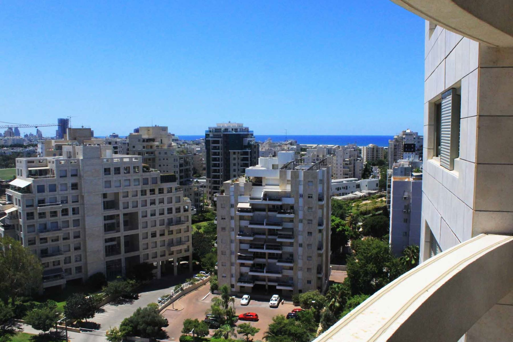 Apartment for Sale at Elegant Sea View Apartment in Savyoney Ramat Aviv Tel Aviv, Israel Israel