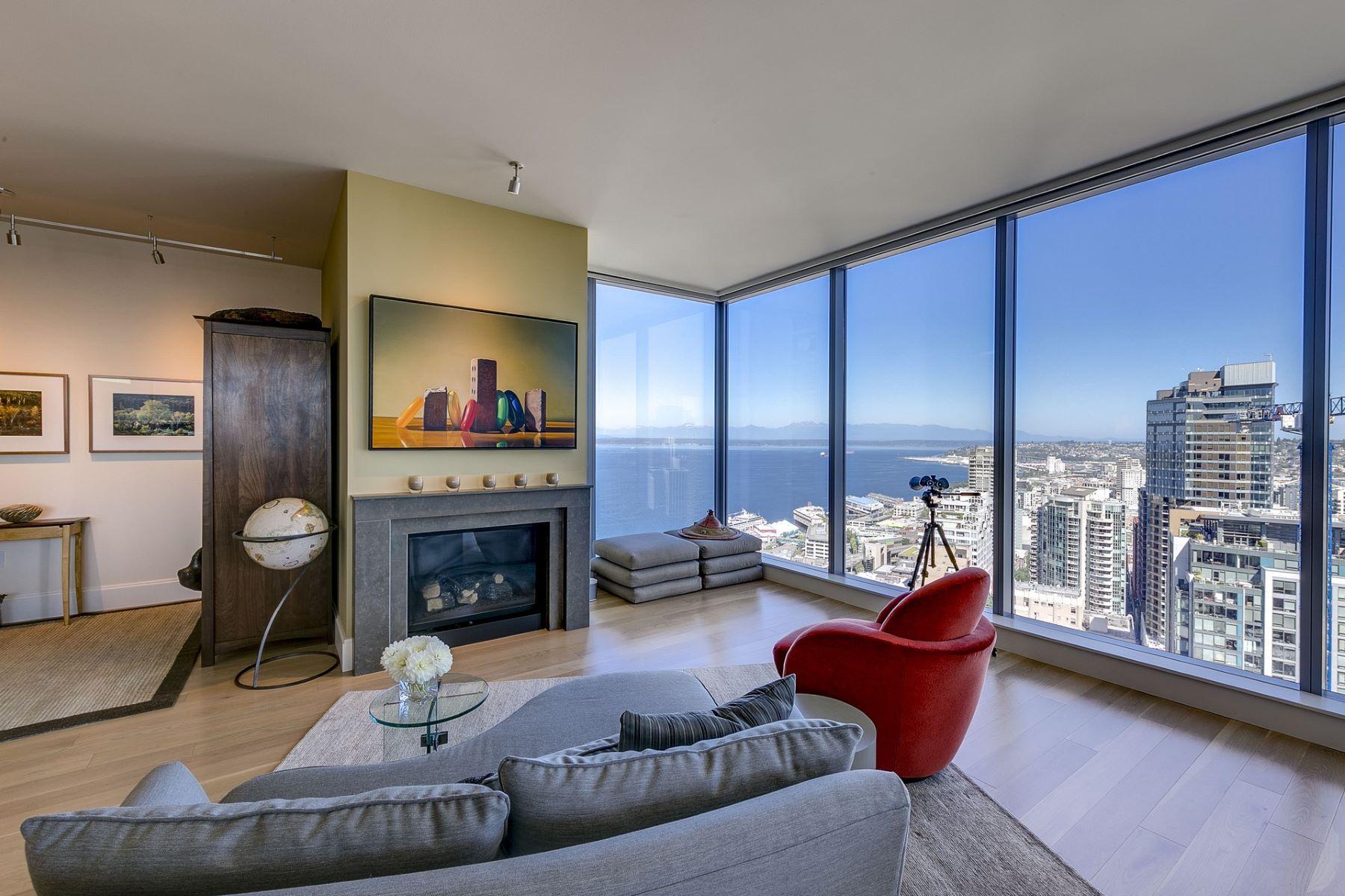 共管式独立产权公寓 为 销售 在 1521 2nd Ave 3301, Seattle 1521 2nd Ave 3301 西雅图, 华盛顿州 98101 美国