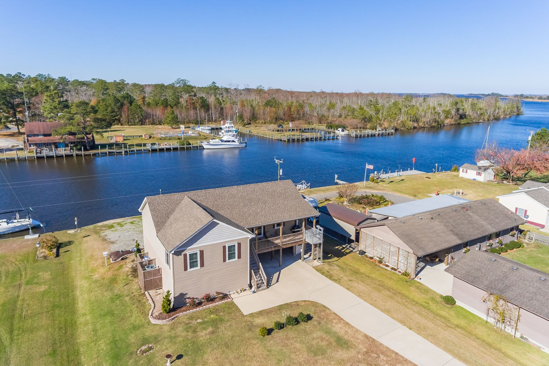 Single Family Homes for Active at Waterlily Rd 369 Waterlily Road Coinjock, North Carolina 27923 United States