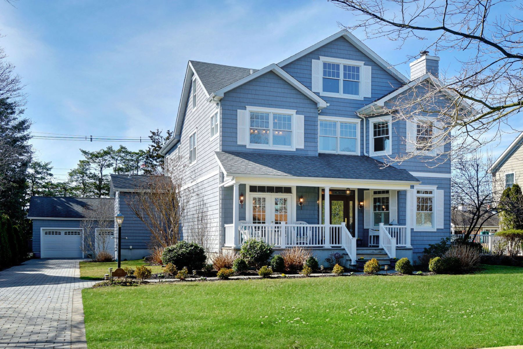Single Family Homes for Sale at Casual Coastal Living Awaits 510 Crescent Parkway Sea Girt, New Jersey 08750 United States