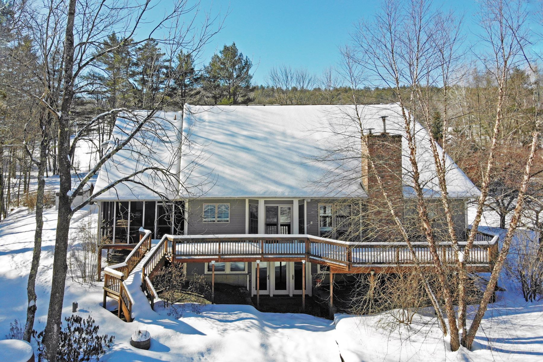 Single Family Homes for Sale at Norwich Country Contemporary 608 Turnpike Rd Norwich, Vermont 05055 United States
