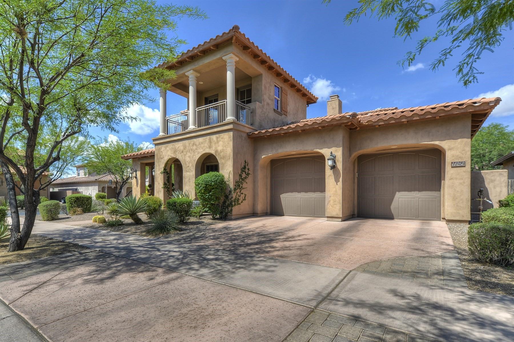 Частный односемейный дом для того Продажа на Beautiful home in the gated Parks Community of DC Ranch 18262 N 94th Way Scottsdale, Аризона, 85255 Соединенные Штаты