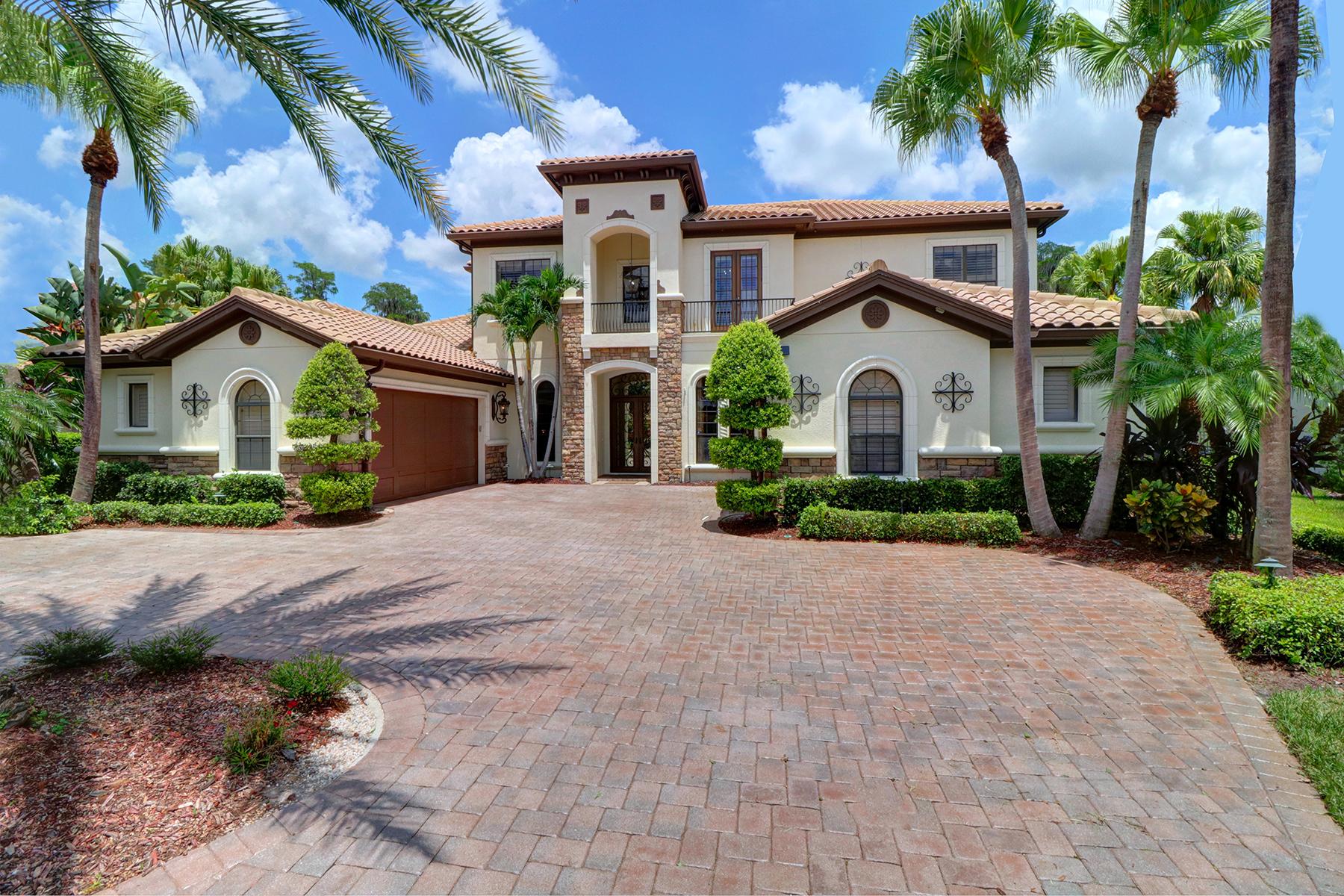 Single Family Homes için Satış at LUTZ 17301 Ladera Estates Blvd, Lutz, Florida 33548 Amerika Birleşik Devletleri