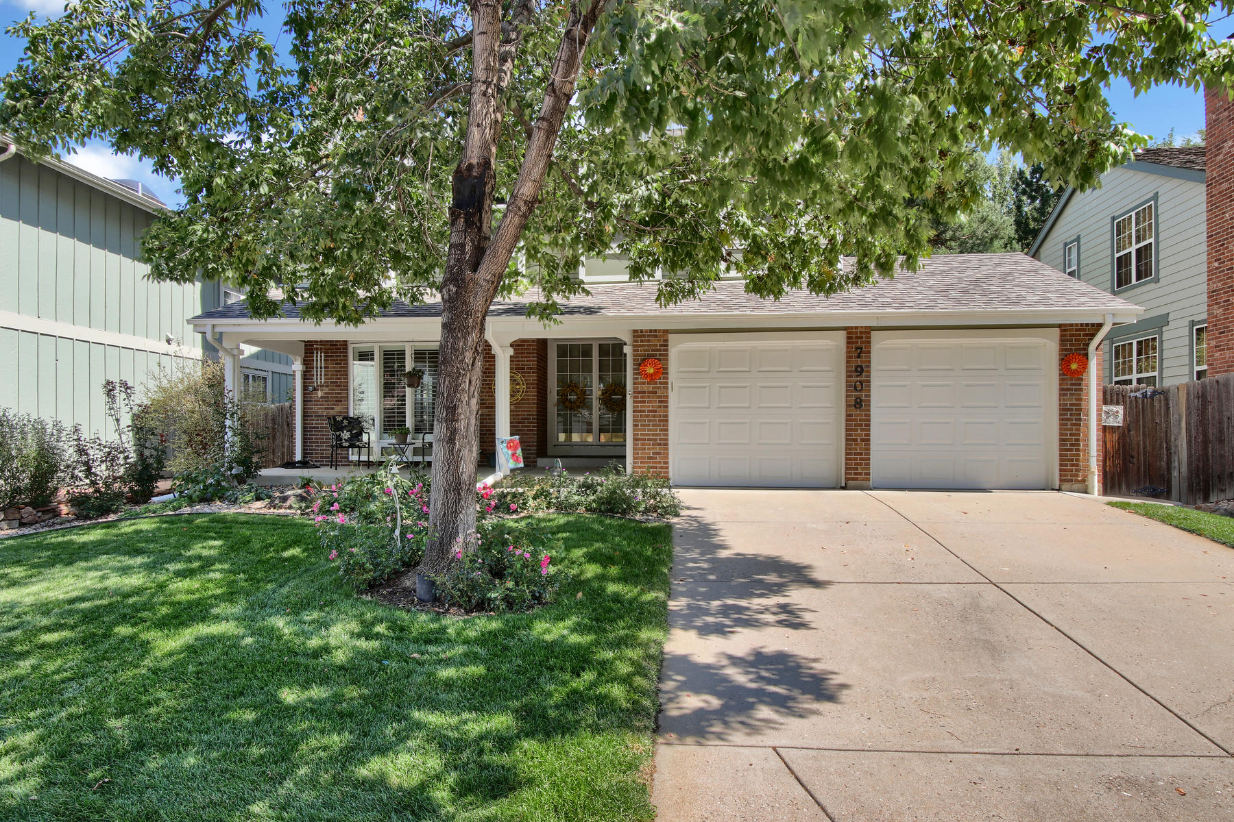 Single Family Home for Active at This two-story home is situated on a desirable street with a charming setting 7908 S Bemis St Littleton, Colorado 80120 United States