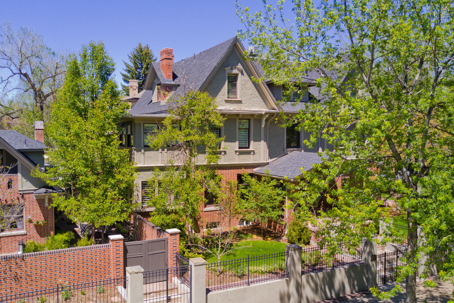 Single Family Home for Active at Historic 7th Avenue 1433 East 7th Avenue Denver, Colorado 80218 United States