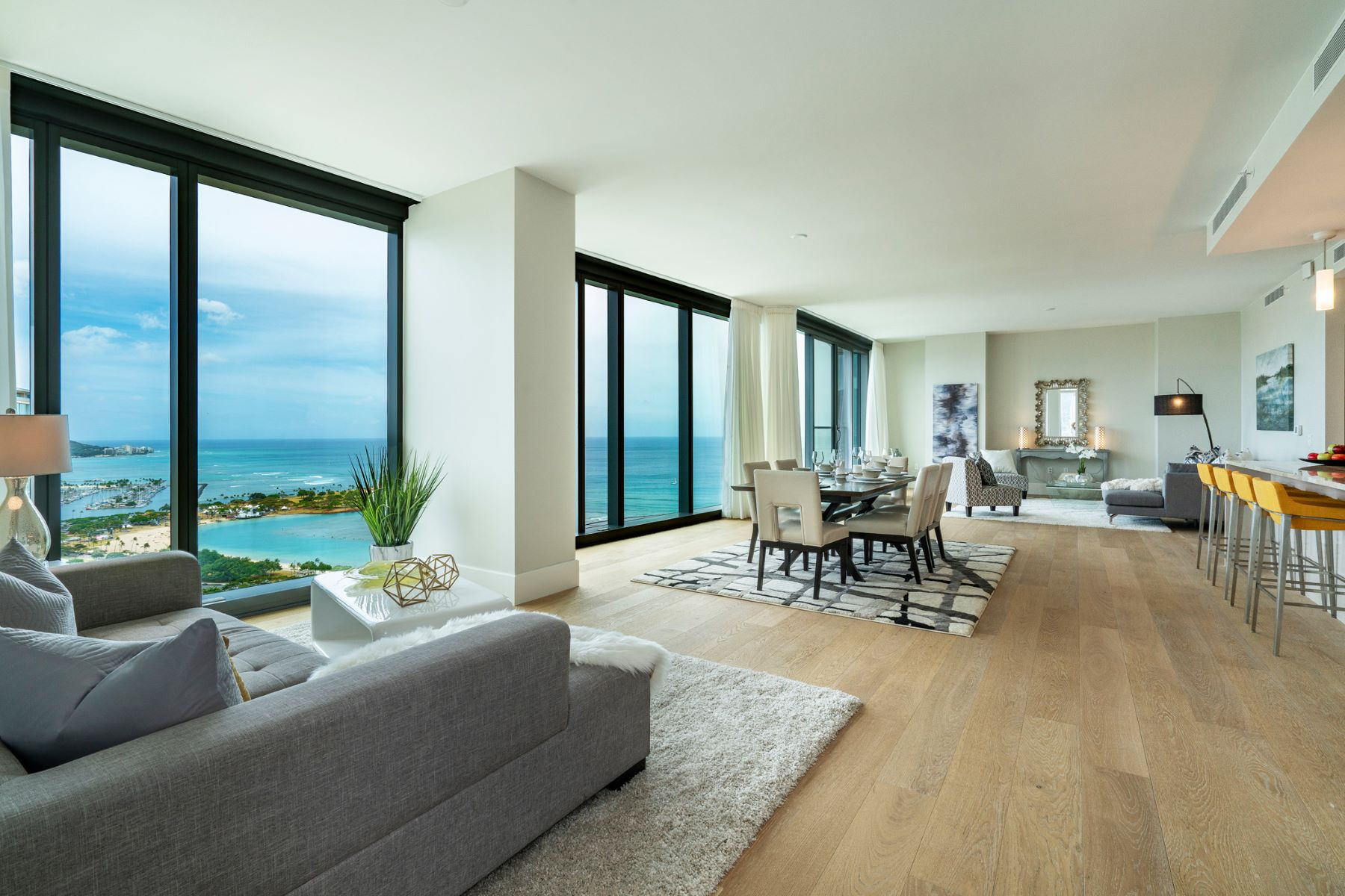 Condominiums για την Πώληση στο High Rise Condo, Luxury Condo, Penthouse, Anaha, Ward Village, Ocean View 1108 Auahi St #PH 3602, Honolulu, Χαβαη 96814 Ηνωμένες Πολιτείες