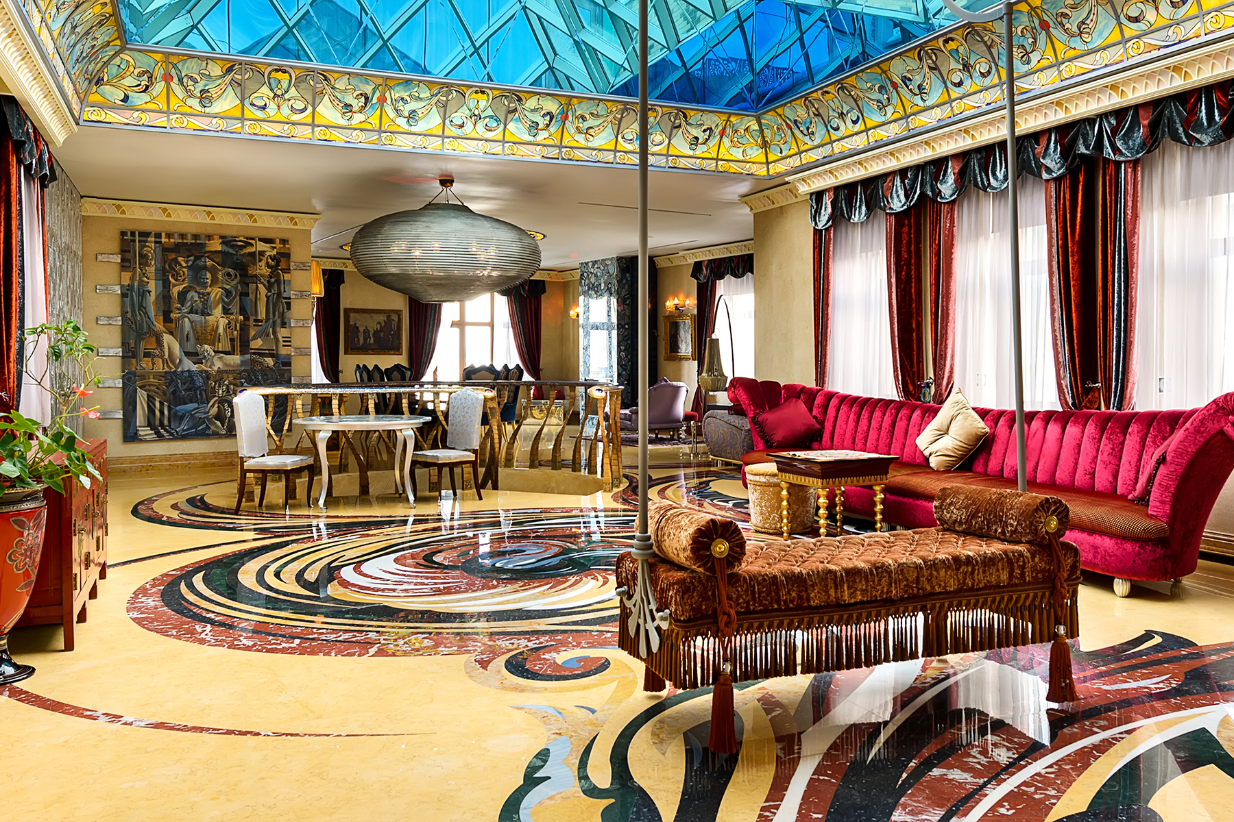 Single Family Homes 为 出租 在 Magnificent penthouse in the club house on Prechistenka Moscow, 莫斯科 俄罗斯