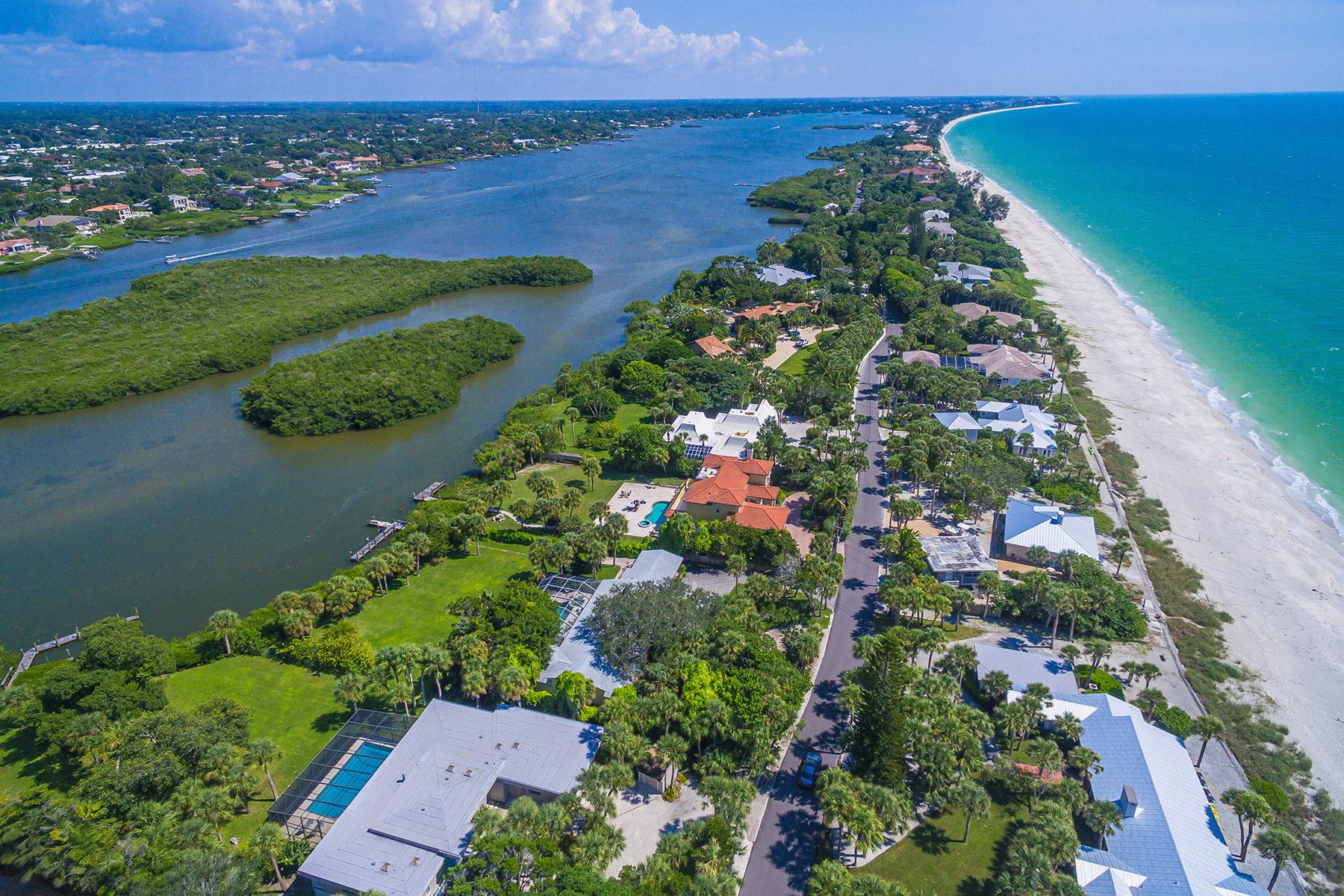 Single Family Homes for Sale at 2816 Casey Key Rd, Nokomis, Florida 34275 United States