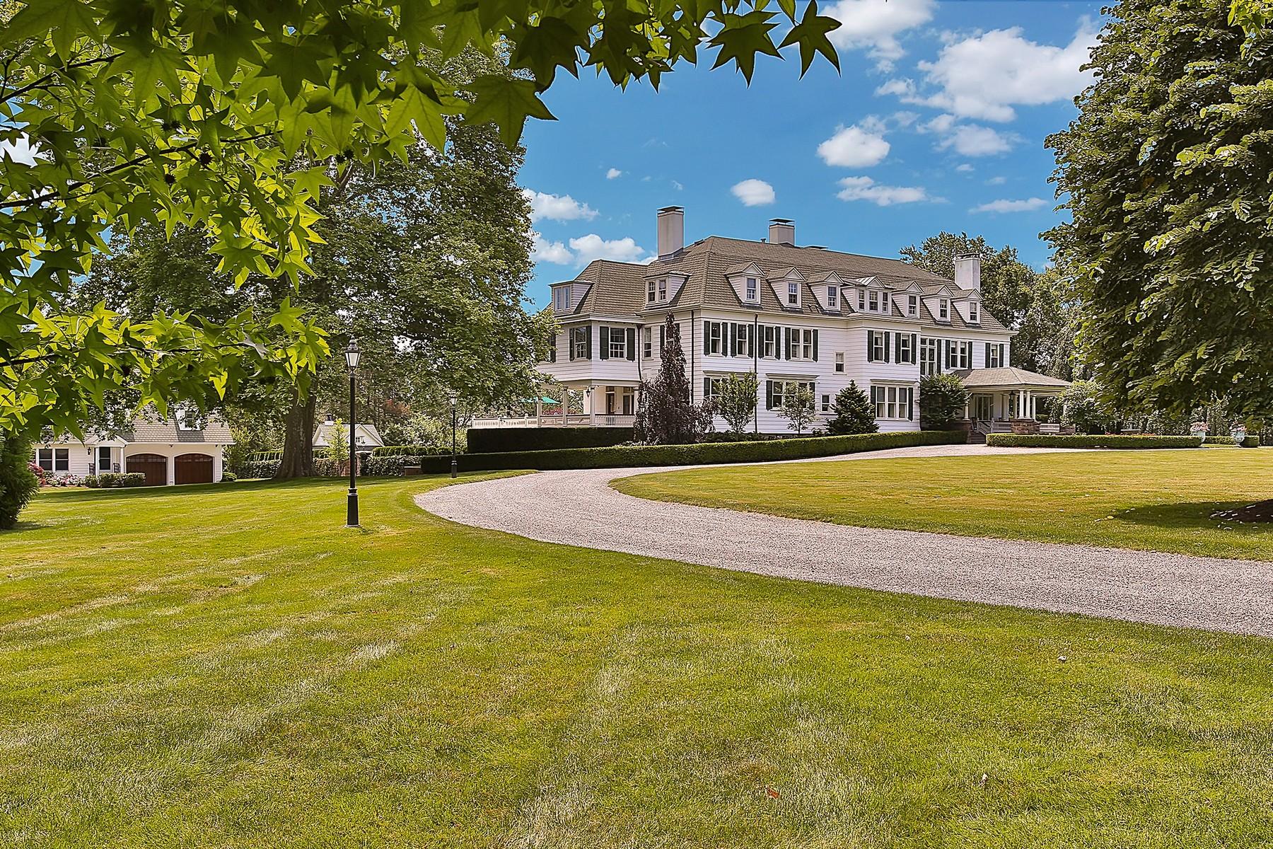 """Villa per Vendita alle ore """"Riverfields"""" 105 Rumson Road, Rumson, New Jersey 07760 Stati Uniti"""