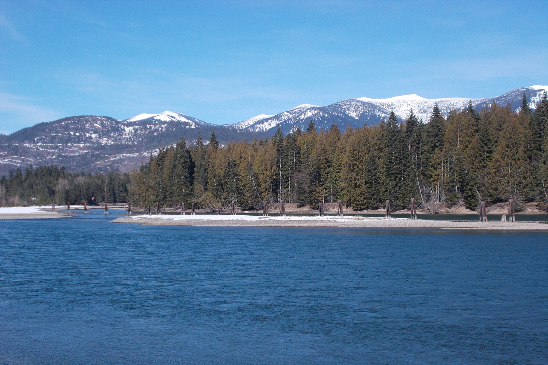 Land for Sale at Beautiful River Frontage w/Private Runway Lot 5 Derr Island Road Clark Fork, Idaho 83811 United States