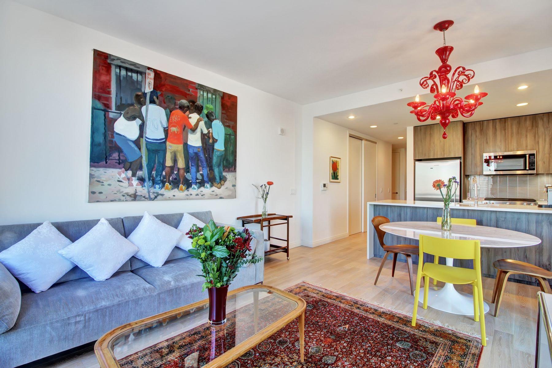 共管式独立产权公寓 为 销售 在 The Oakman 160 1st Street #1013 泽西城, 新泽西州 07302 美国
