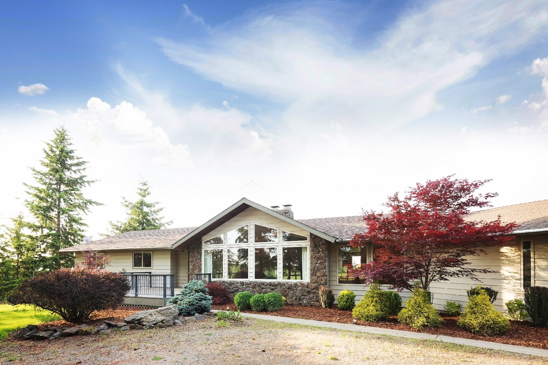 Single Family Homes for Sale at A Paradise with Something for Everyone 11405 E Stoughton Valleyford, Washington 99036 United States