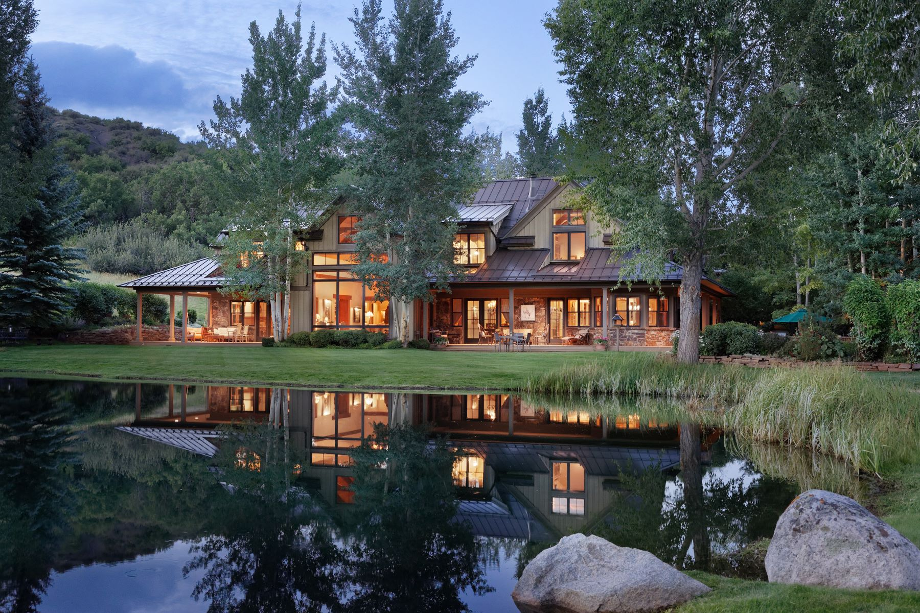 Casa Unifamiliar por un Venta en Owl Creek 1214 Owl Creek Ranch Road Aspen, Colorado 81611 Estados Unidos