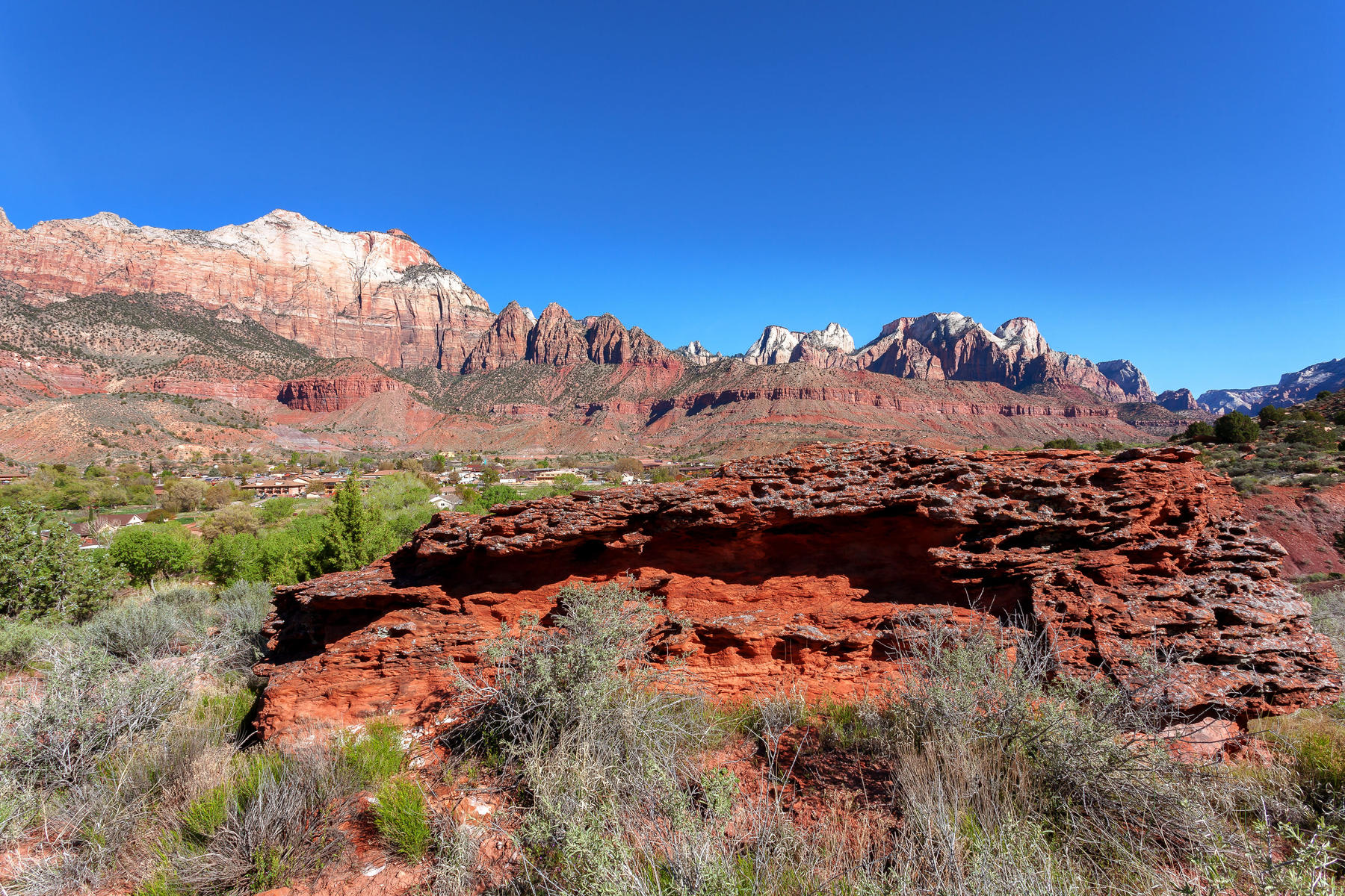 Additional photo for property listing at Gorgeous Lot Surrounded by Zion Canyon Springs Dr Lot 37 Springdale, Юта 84767 Соединенные Штаты