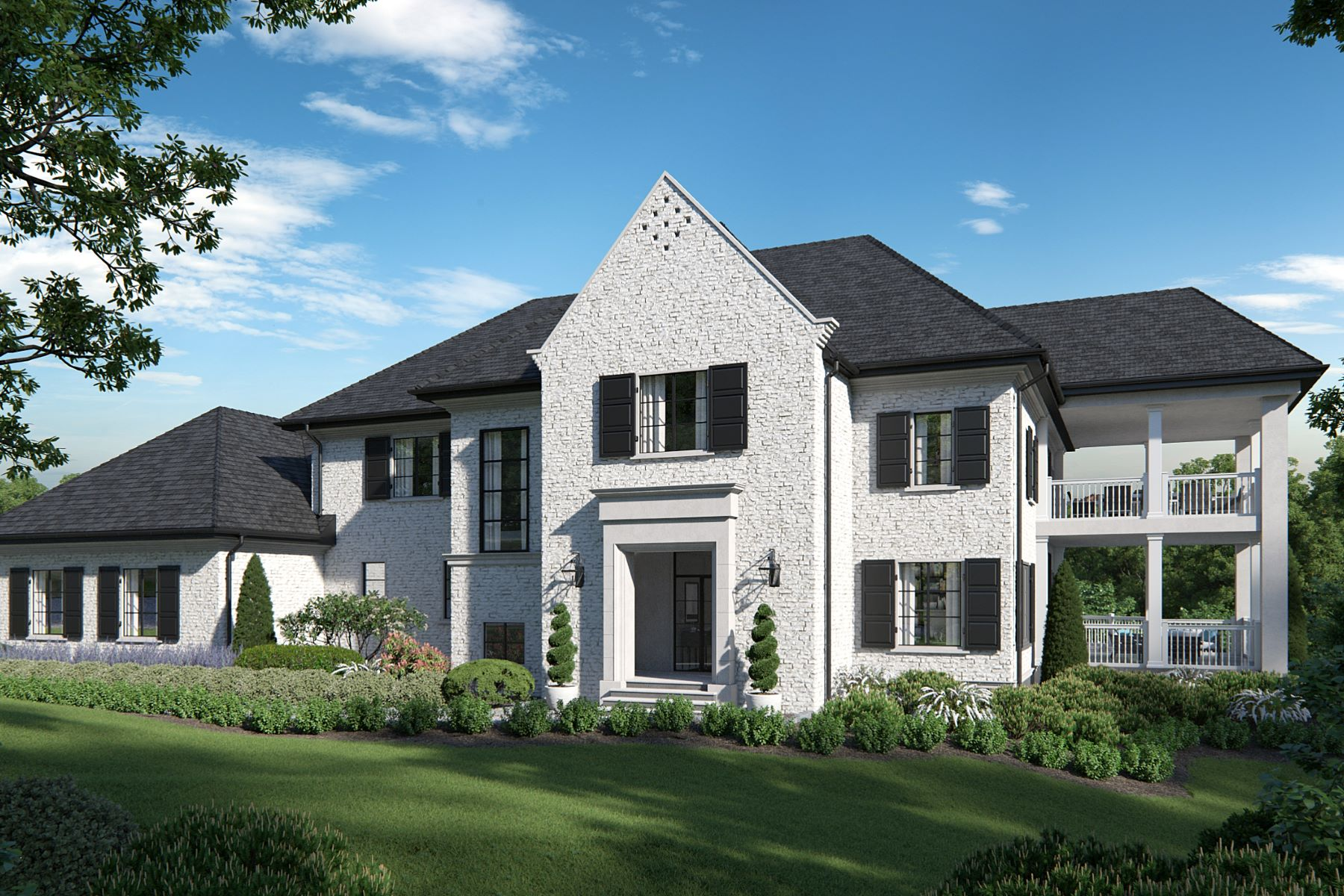 Single Family Homes for Sale at New Construction LEED Platinum 2686 Grandin Place Lot D Cincinnati, Ohio 45208 United States