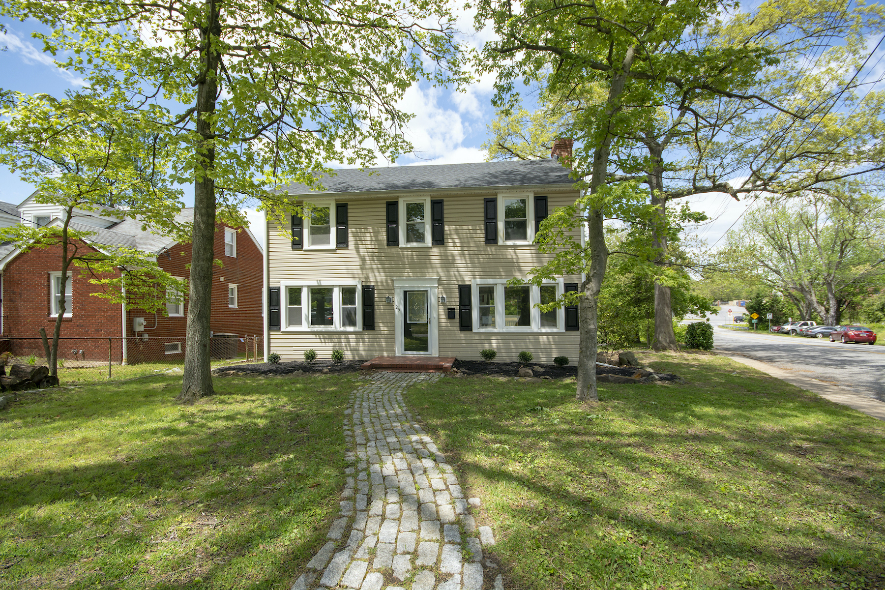 Single Family Homes for Sale at Totally Renovated Colonial 25 Brownshade Drive Glen Burnie, Maryland 21061 United States