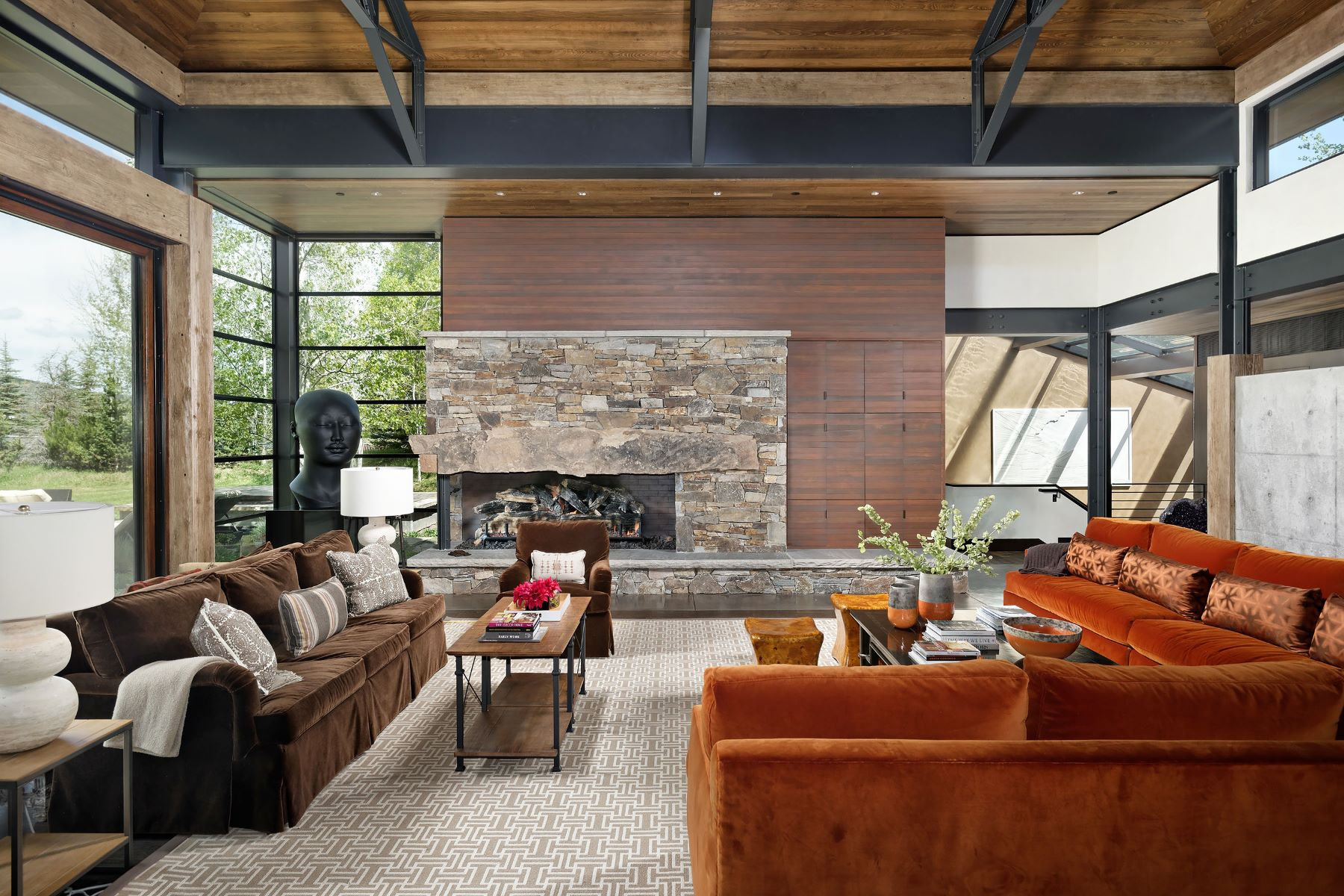 Additional photo for property listing at Impressive Mountain Contemporary in West Aspen 28 Maroon Drive Aspen, Colorado 81611 United States