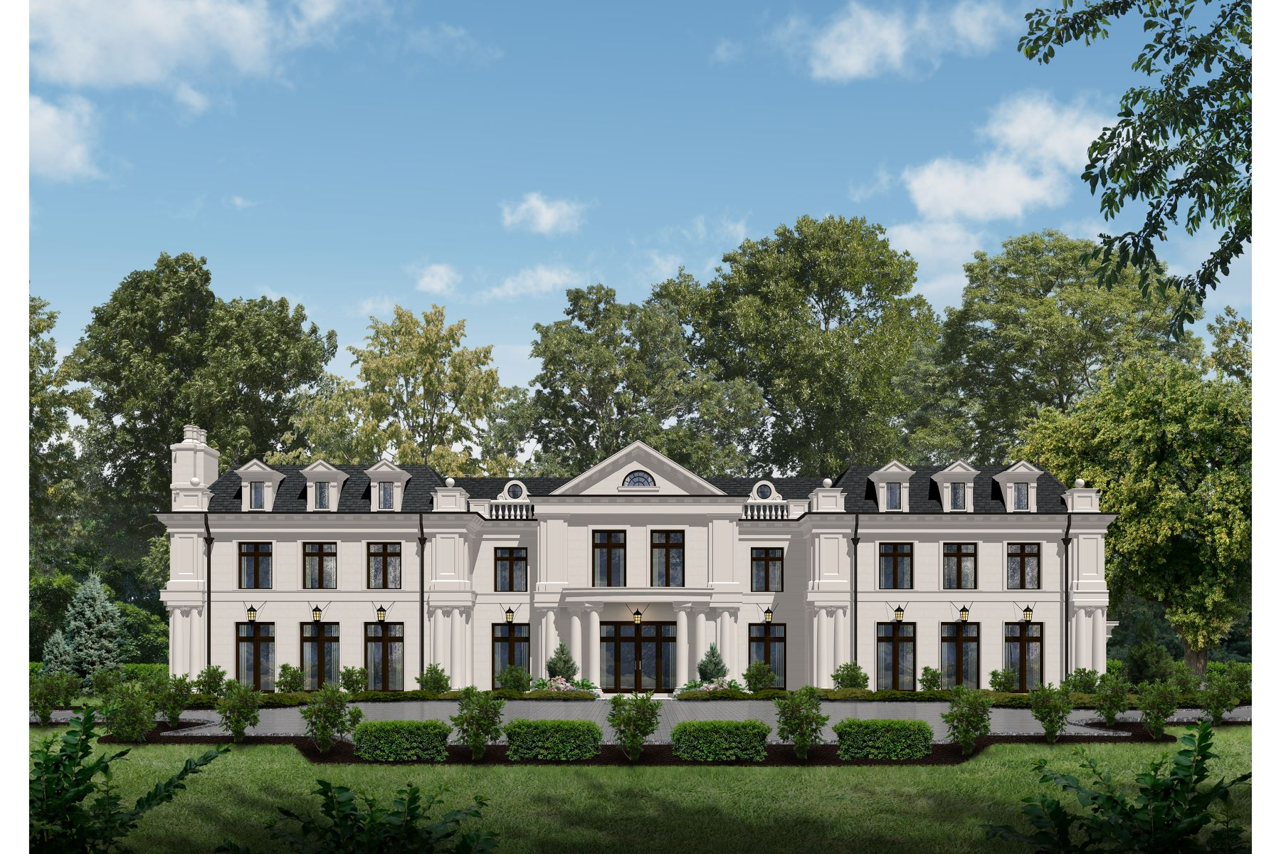Single Family Home for Sale at Opulent Beverly Hills Inspired Estate 23 Stone Tower Dr. Alpine, New Jersey 07620 United States