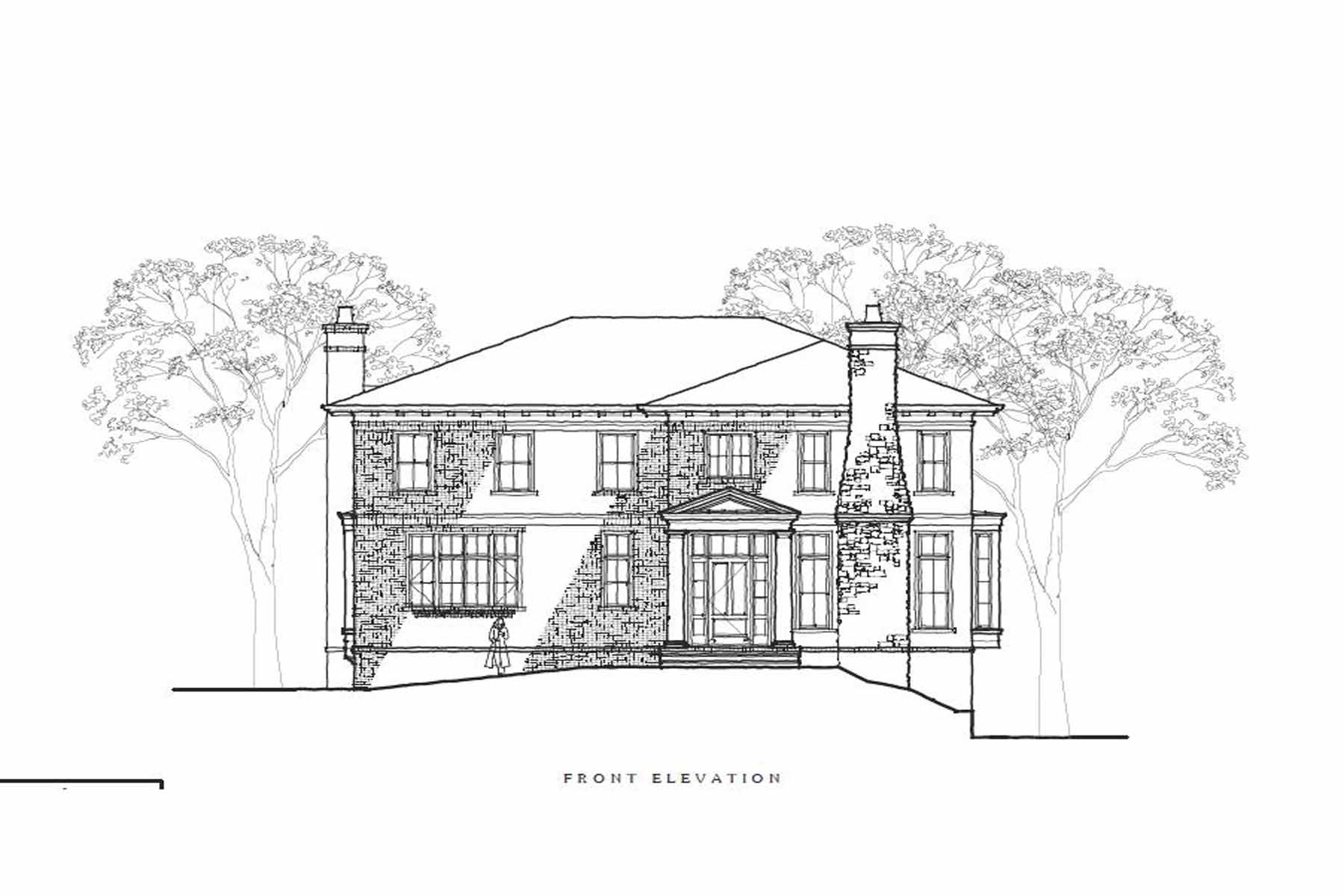 단독 가정 주택 용 매매 에 New Construction in Ansley Park 109 17th Street NE Ansley Park, Atlanta, 조지아, 30309 미국