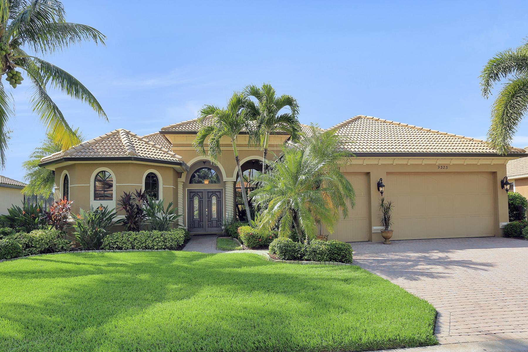 Single Family Homes por un Venta en REFLECTION ISLES 9323 River Otter Drive, Fort Myers, Florida 33912 Estados Unidos