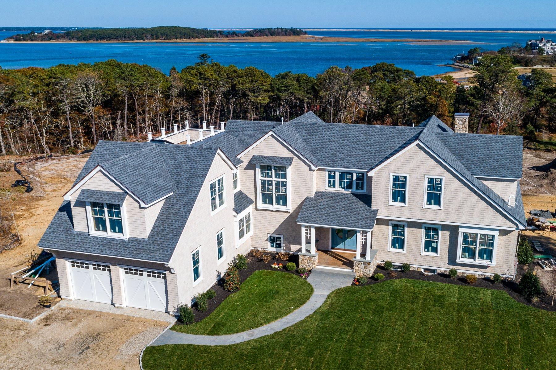 Single Family Homes for Sale at Lot 2 Whidah Road, Chatham, MA 168 Whidah Road Chatham, Massachusetts 02633 United States