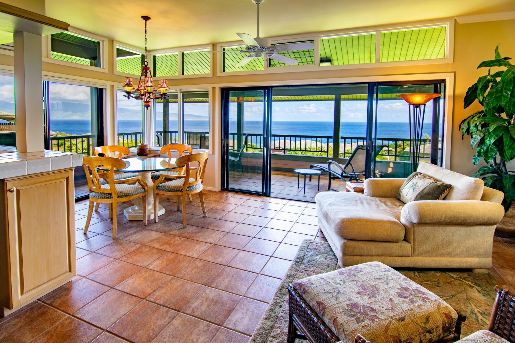 Condominium for Active at Impeccable Kapalua Ridge 100 Ridge Road, Kapalua Ridge 821-22 Kapalua, Hawaii 96761 United States