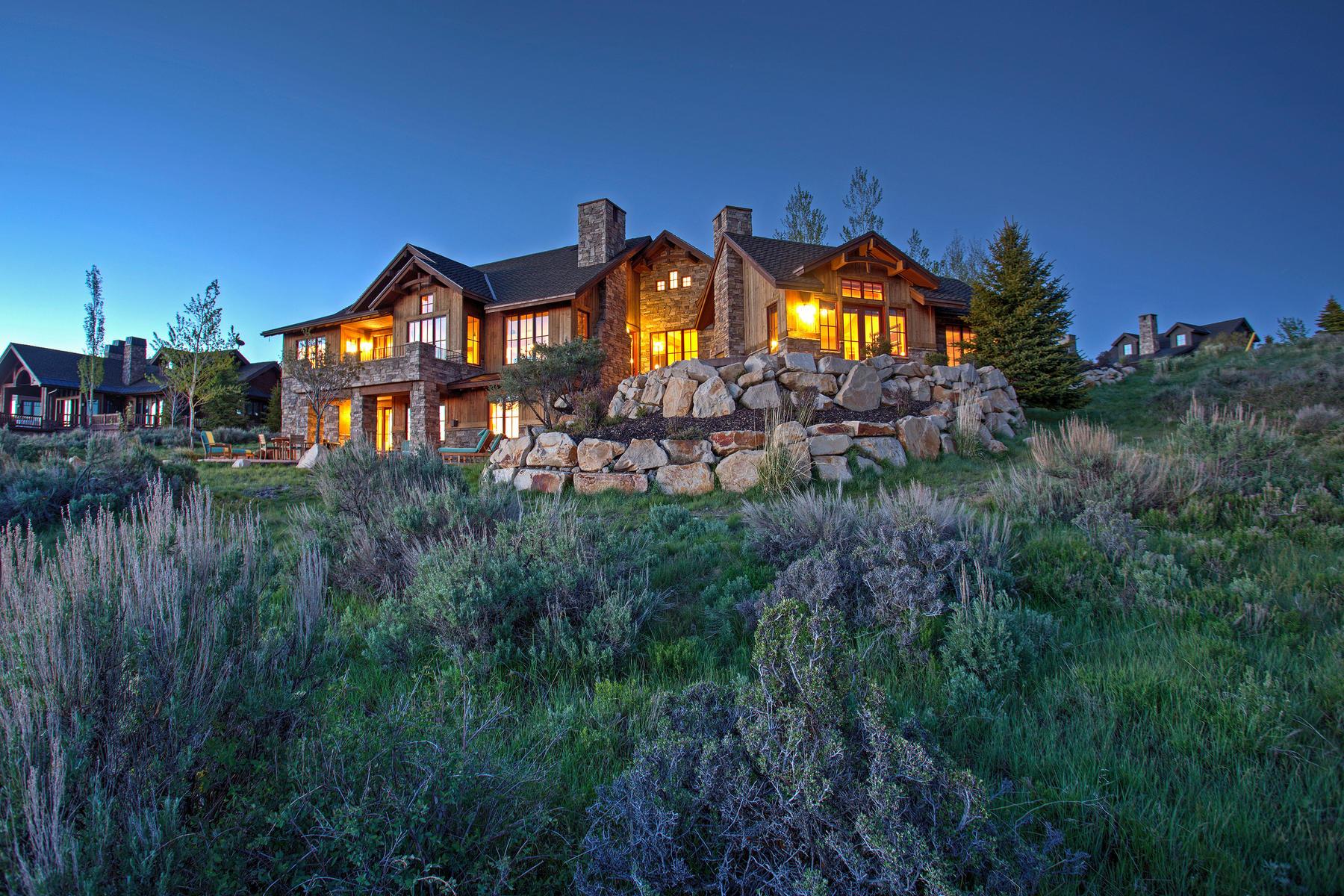 Vivienda unifamiliar por un Venta en Million Dollar Park City Views 8030 West Hills Trail Park City, Utah, 84098 Estados Unidos