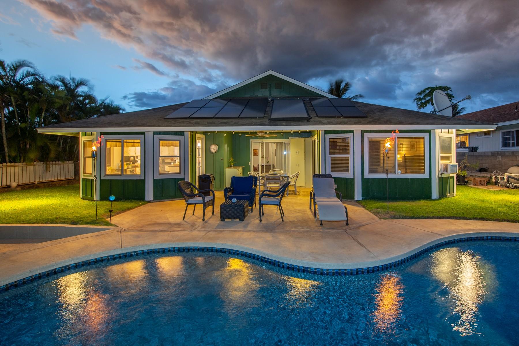 Single Family Homes 為 出售 在 Hidden North Kihei Tropical Oasis 617 Kaiola Street, Kihei, 夏威夷 96753 美國