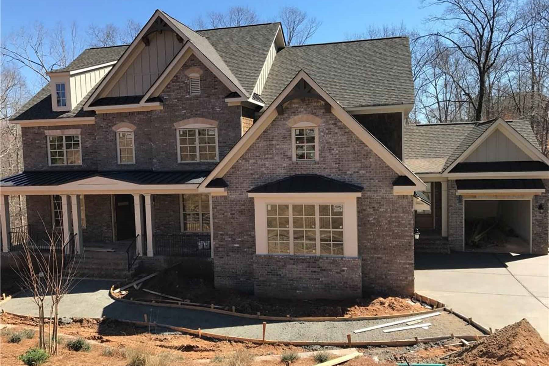 Single Family Home for Sale at Old Word Craftsmanship Meets Modern New Design 13148 Overlook Pass Roswell, Georgia, 30075 United States
